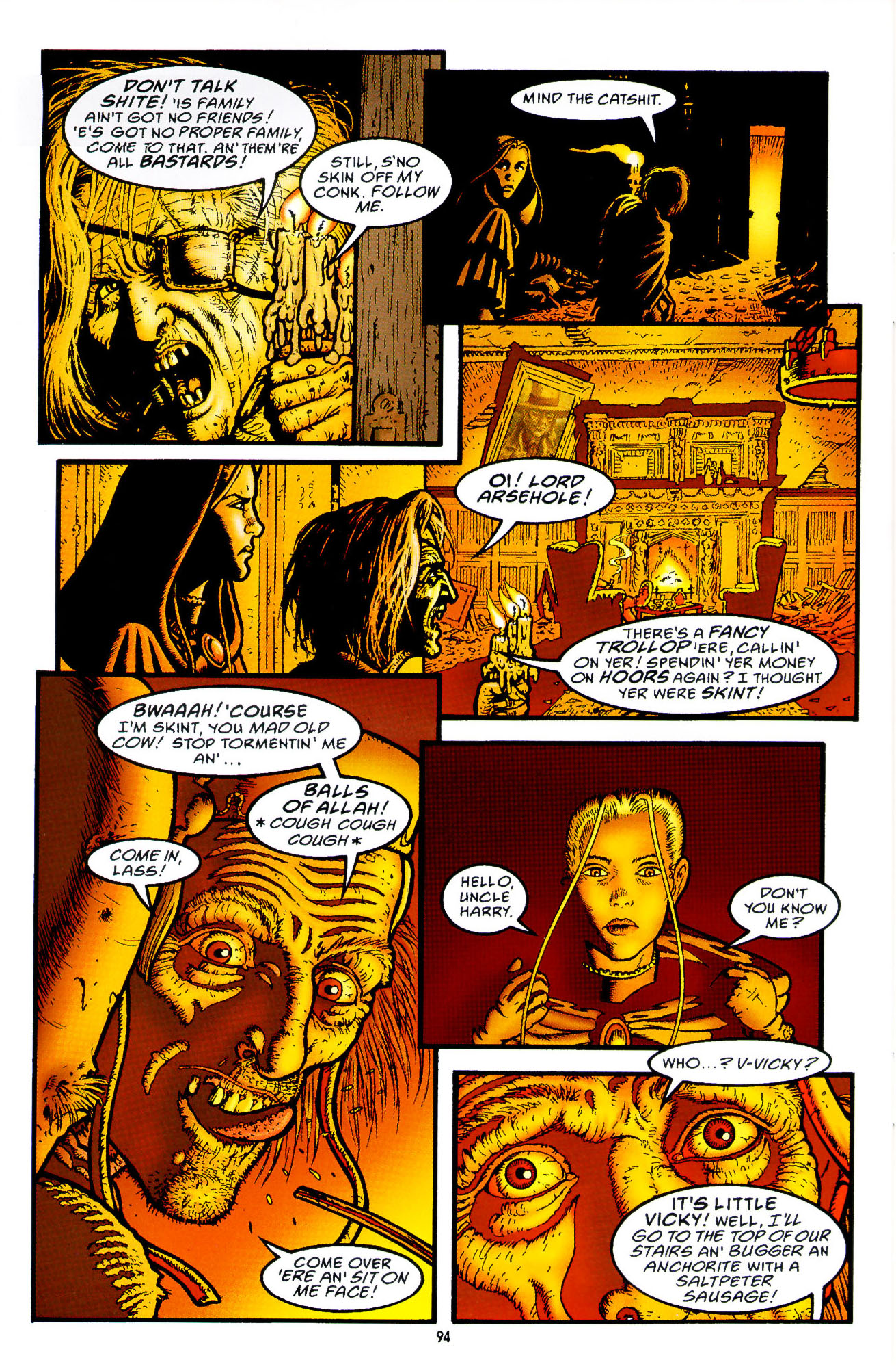 Read online Heart of Empire comic -  Issue #3 - 36