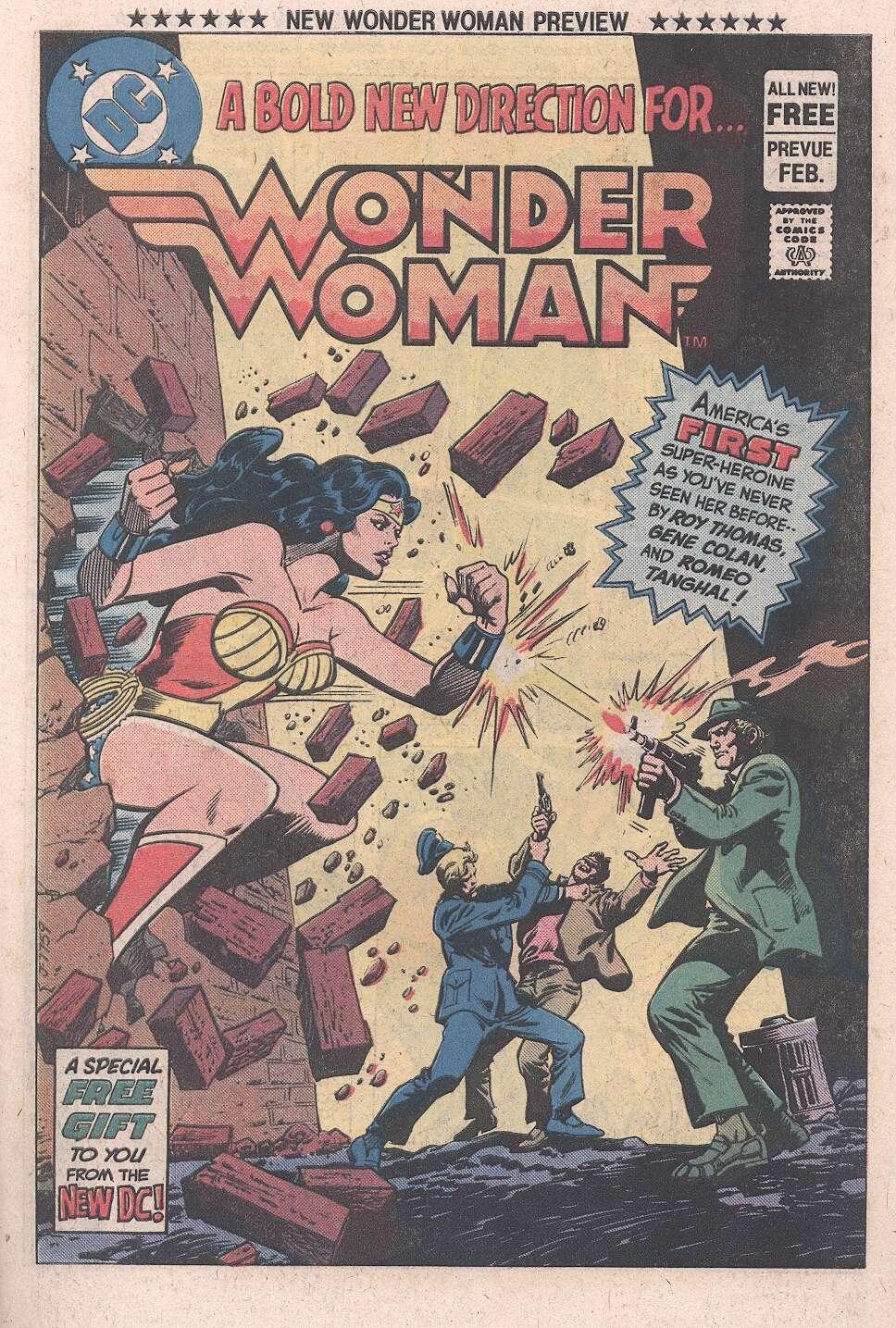 Read online Wonder Woman (1942) comic -  Issue #287b - 1
