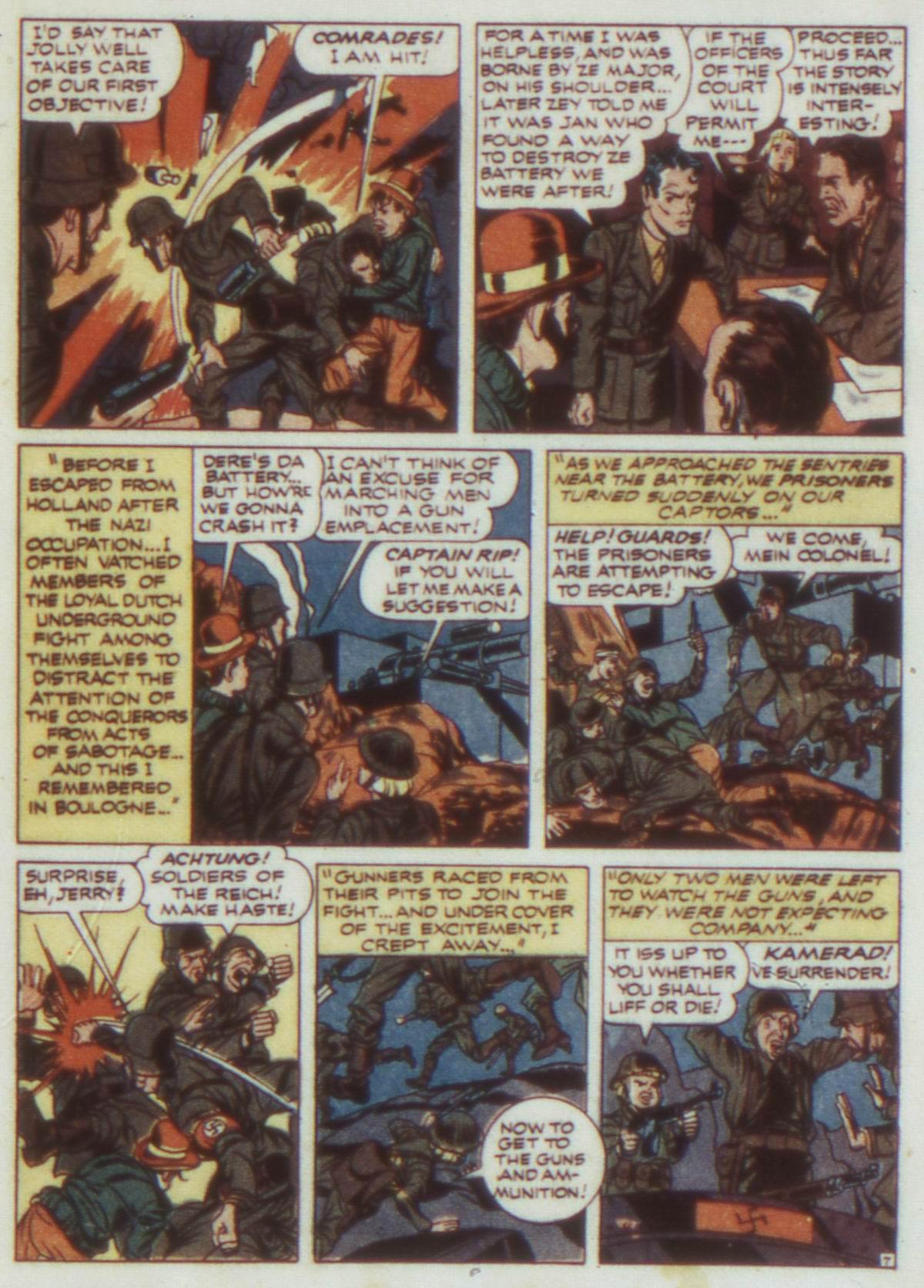 Read online Detective Comics (1937) comic -  Issue #74 - 23