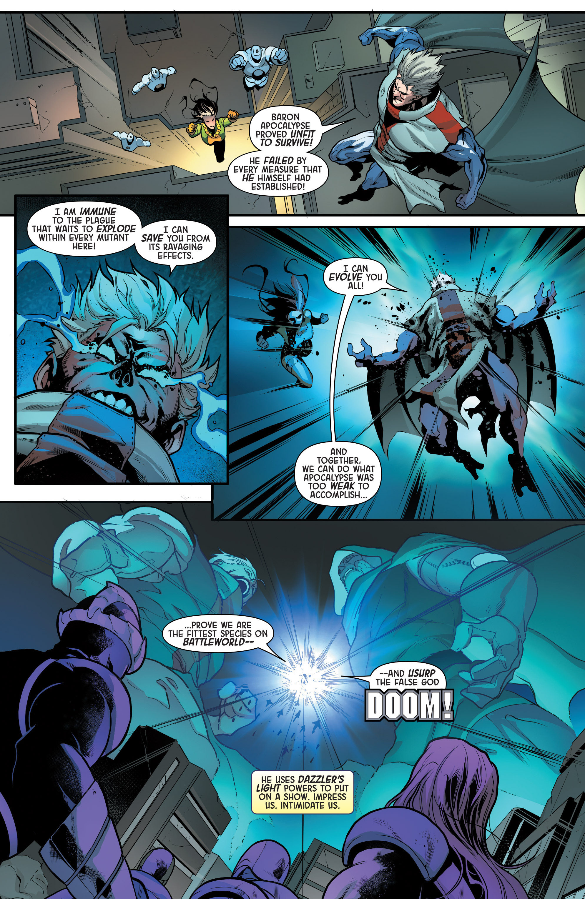 Read online Age of Apocalypse (2015) comic -  Issue #5 - 9