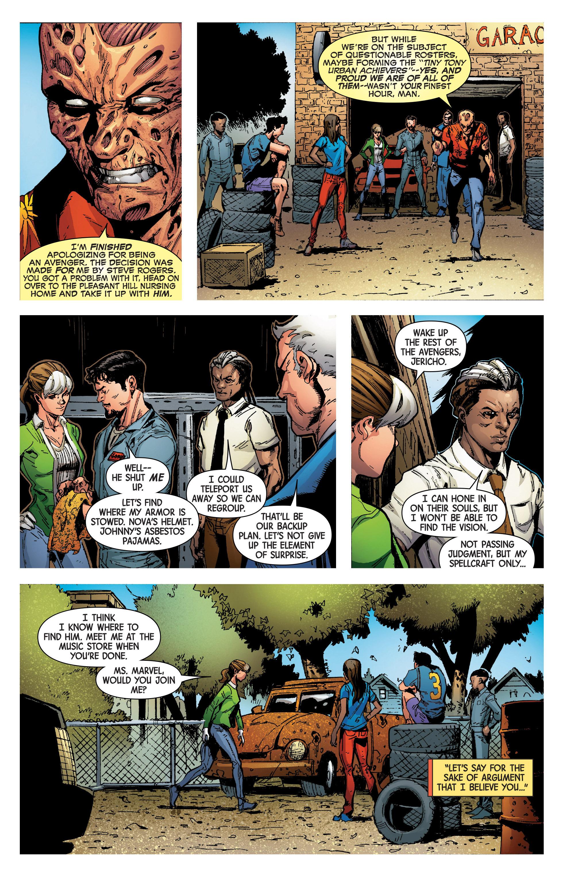 Read online Uncanny Avengers [II] comic -  Issue #8 - 19