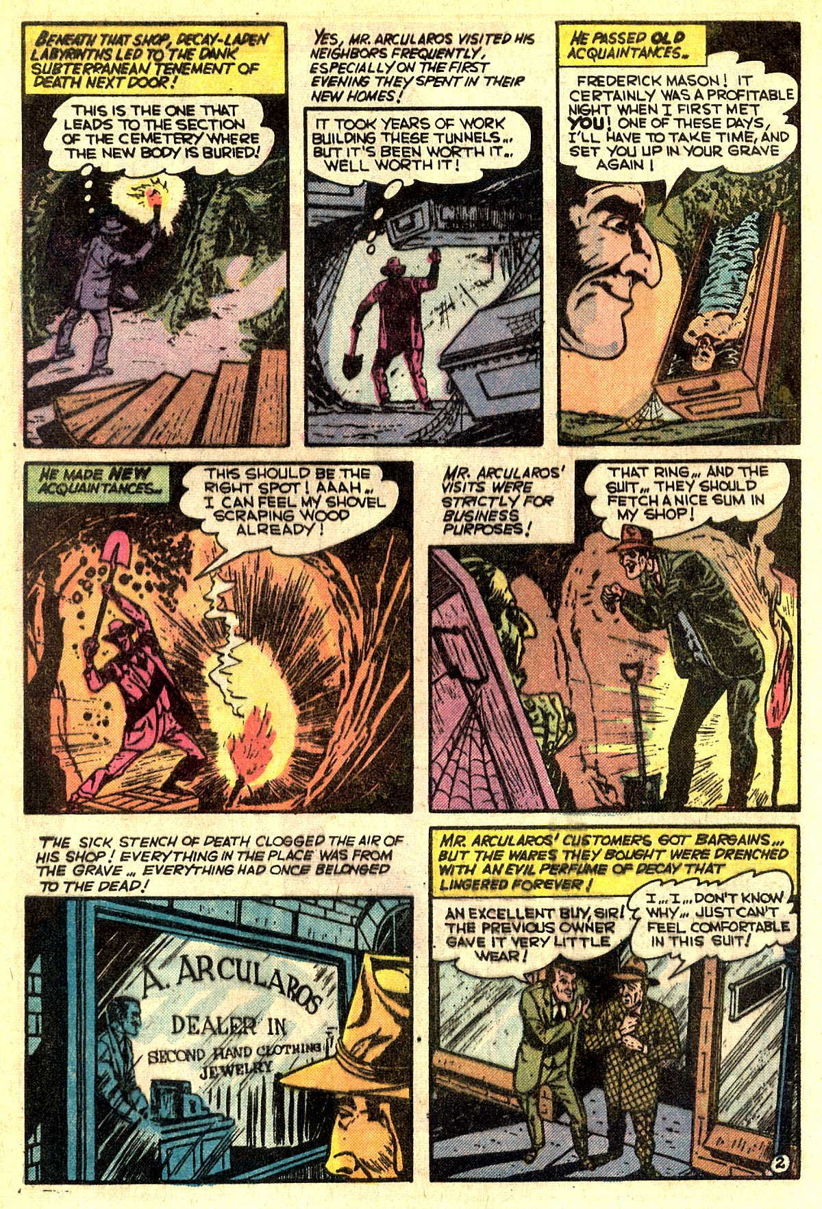 Read online Adventures into Weird Worlds comic -  Issue #5 - 22
