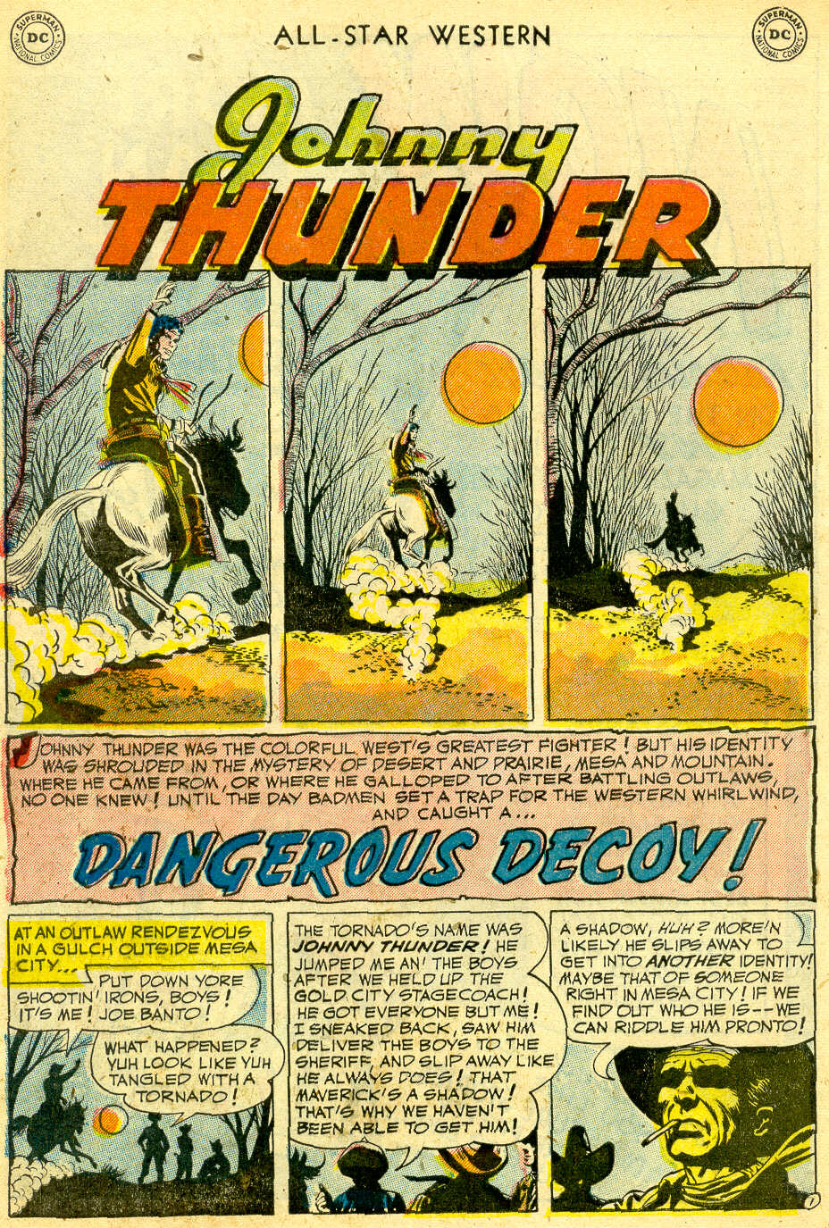 Read online All-Star Western (1951) comic -  Issue #68 - 28
