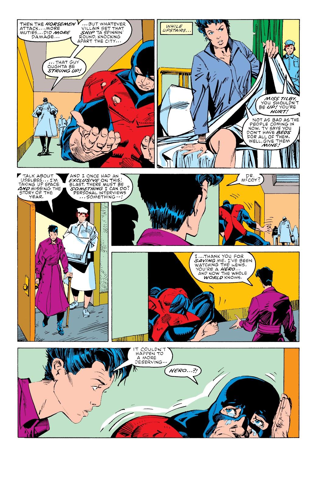 Read online X-Men Milestones: Fall of the Mutants comic -  Issue # TPB (Part 3) - 58