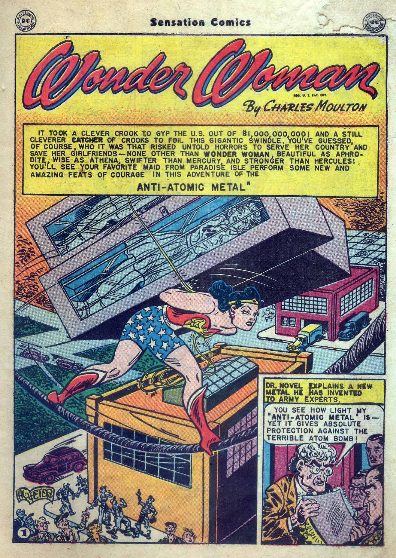 Read online Sensation (Mystery) Comics comic -  Issue #56 - 3