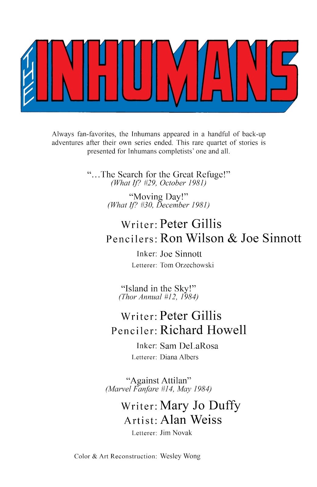 Read online Marvel Masterworks: The Inhumans comic -  Issue # TPB 2 (Part 3) - 81