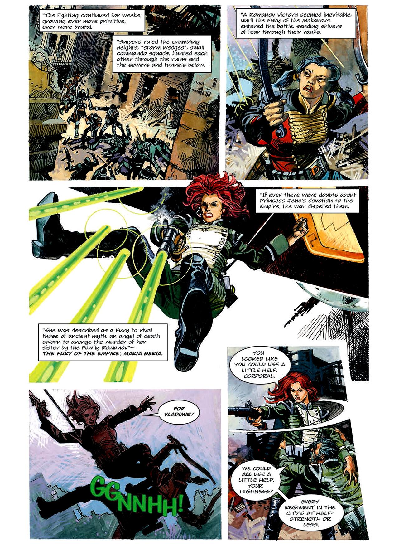 Read online Nikolai Dante comic -  Issue # TPB 4 - 56