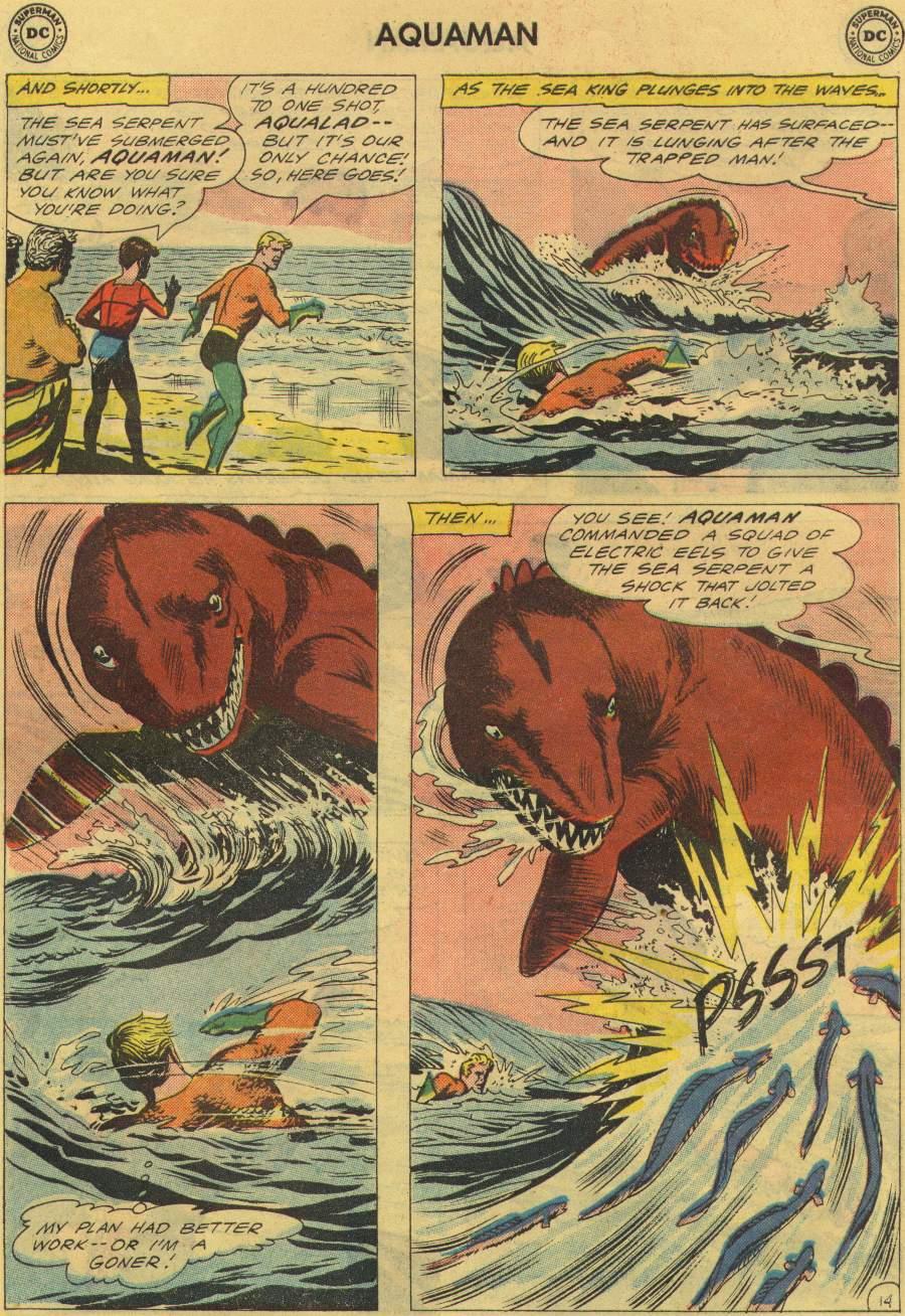 Read online Aquaman (1962) comic -  Issue #2 - 19