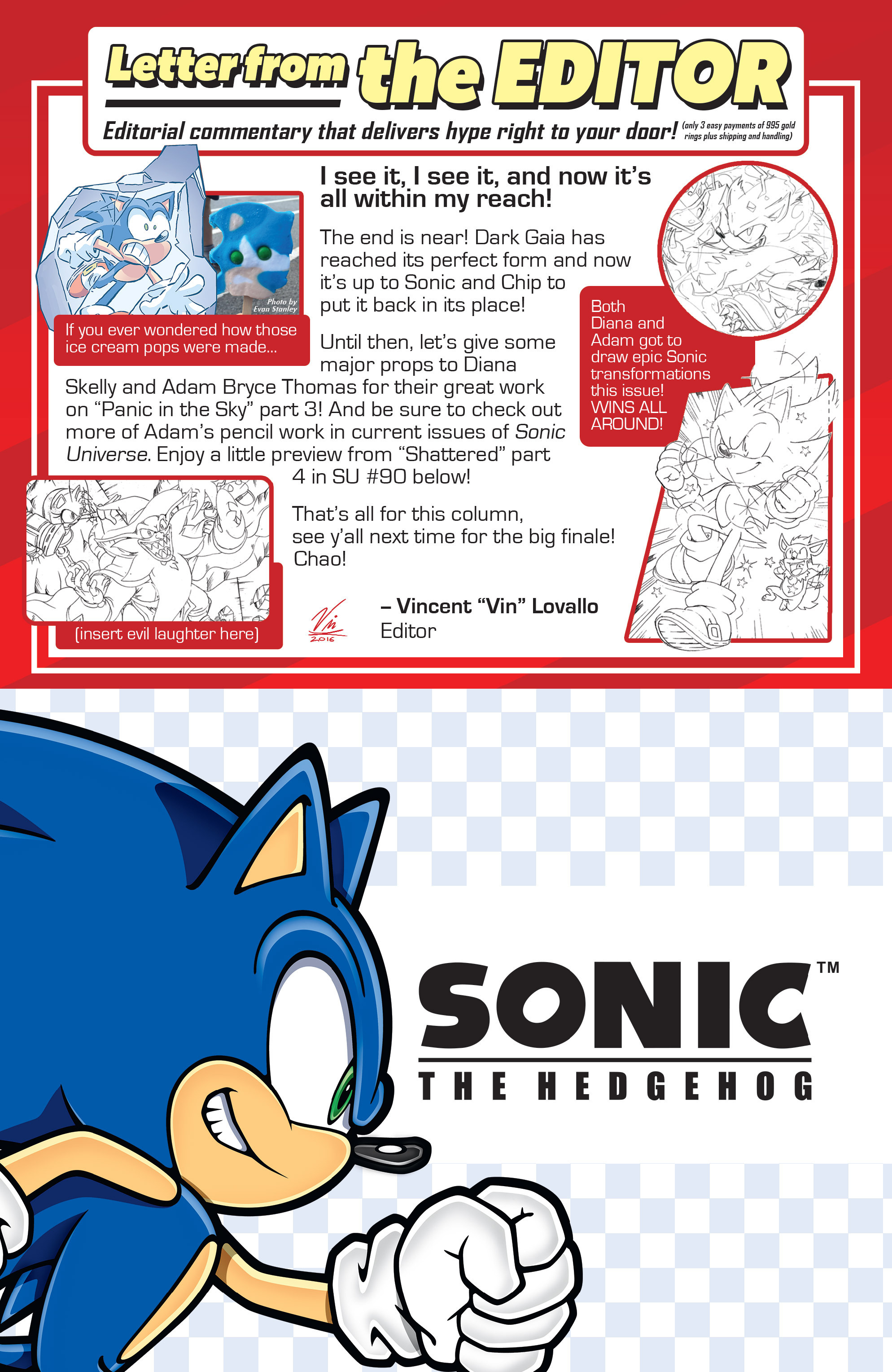 Read online Sonic The Hedgehog comic -  Issue #286 - 23