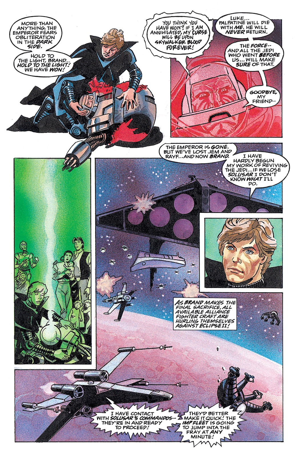 Read online Star Wars: Dark Empire Trilogy comic -  Issue # TPB (Part 4) - 53