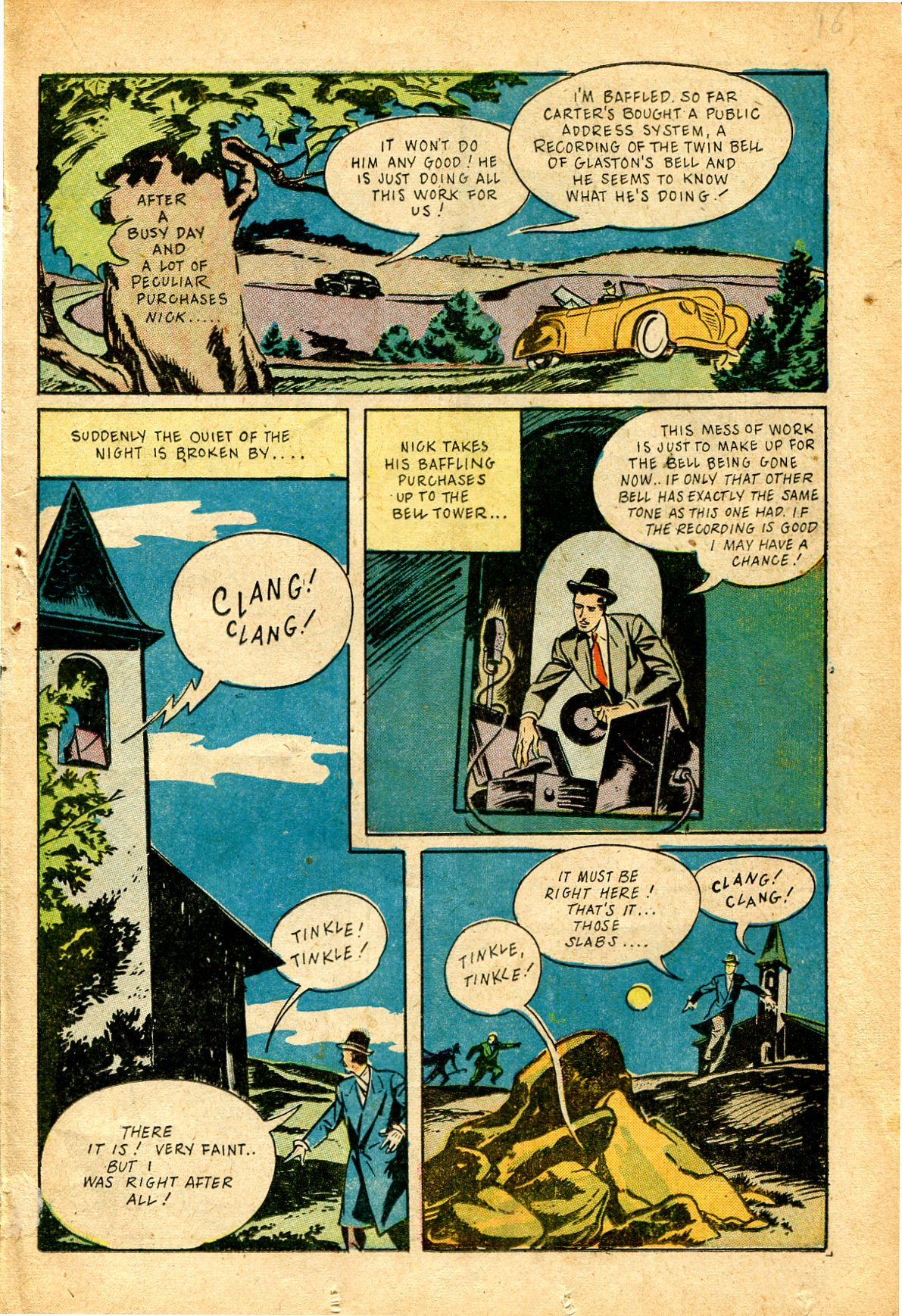 Read online Shadow Comics comic -  Issue #51 - 32