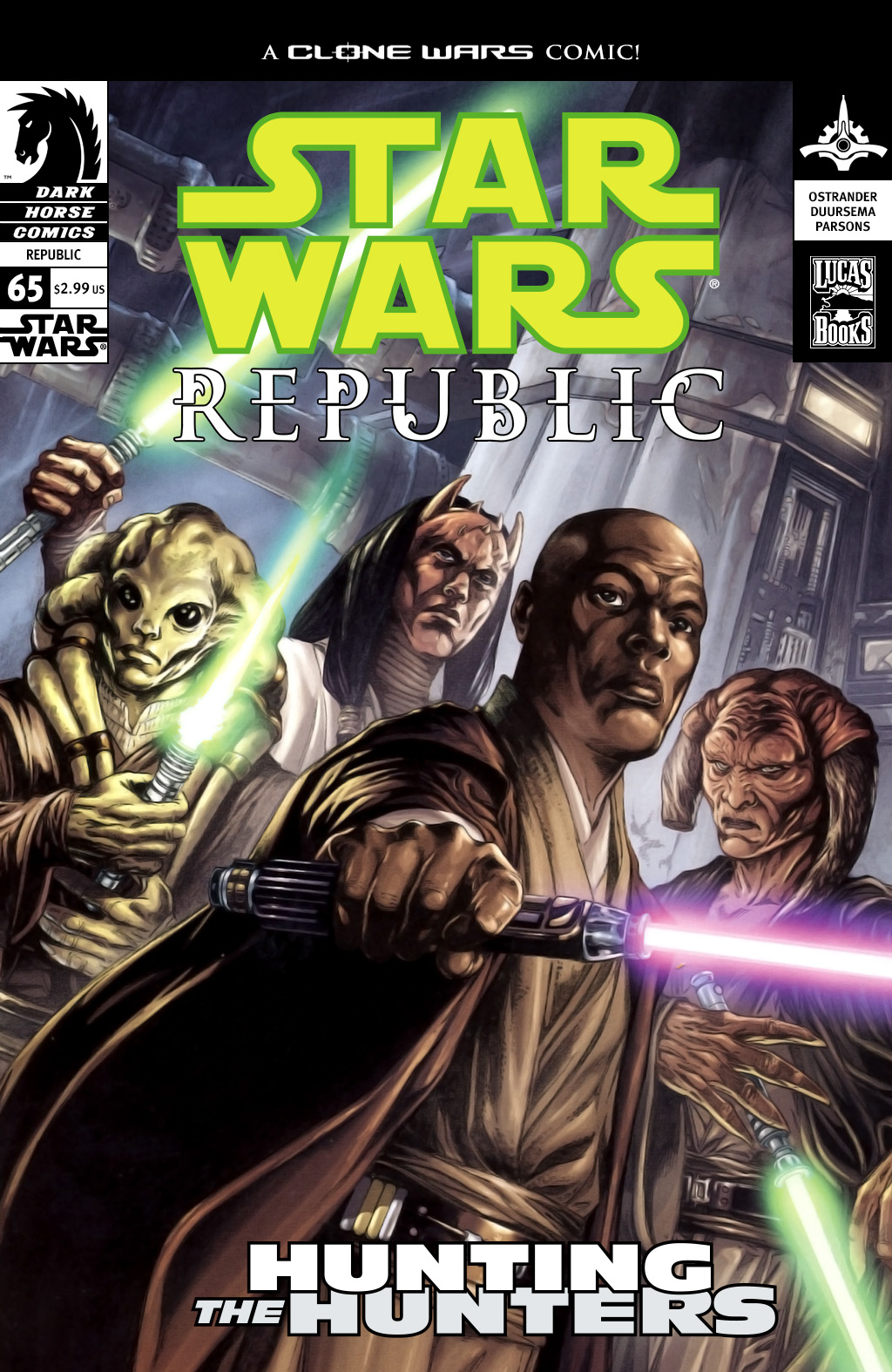 Star Wars: Republic 65 Page 1