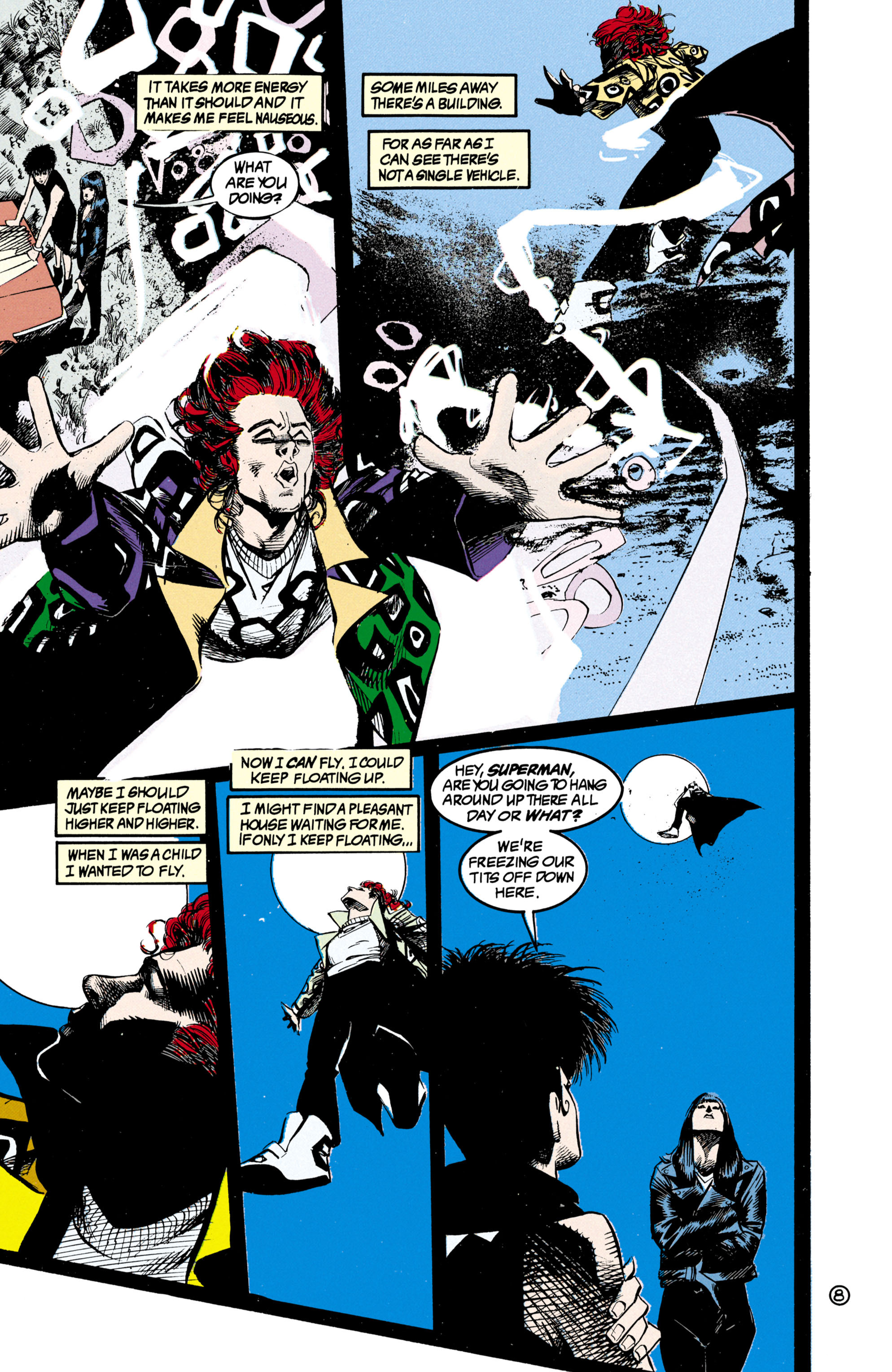 Read online Shade, the Changing Man comic -  Issue #21 - 9