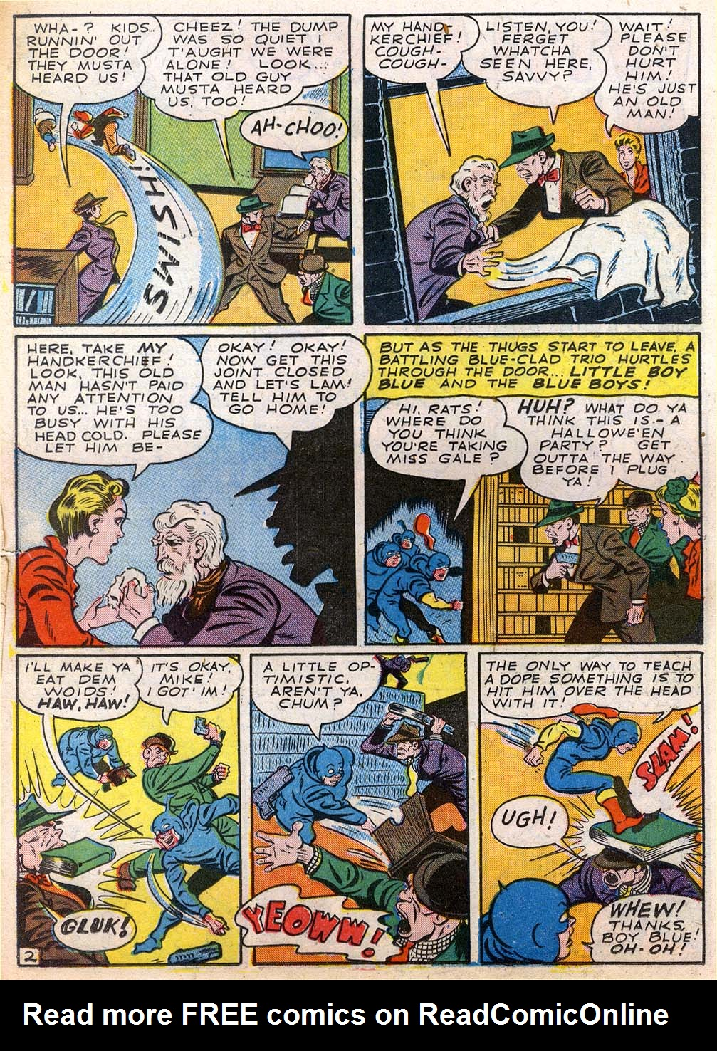 Read online Sensation (Mystery) Comics comic -  Issue #27 - 26