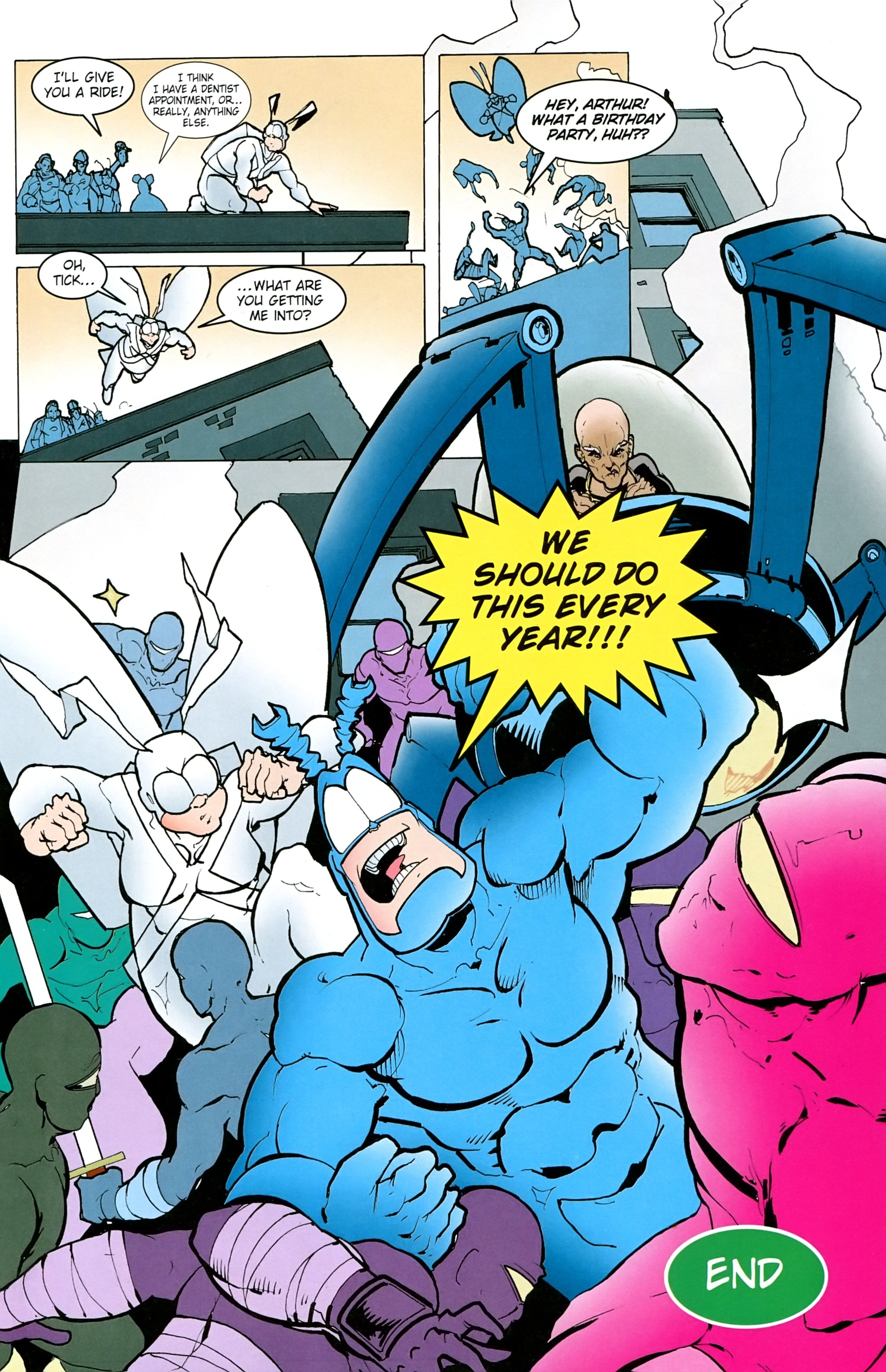 Read online Free Comic Book Day 2017 comic -  Issue # The Tick - 17