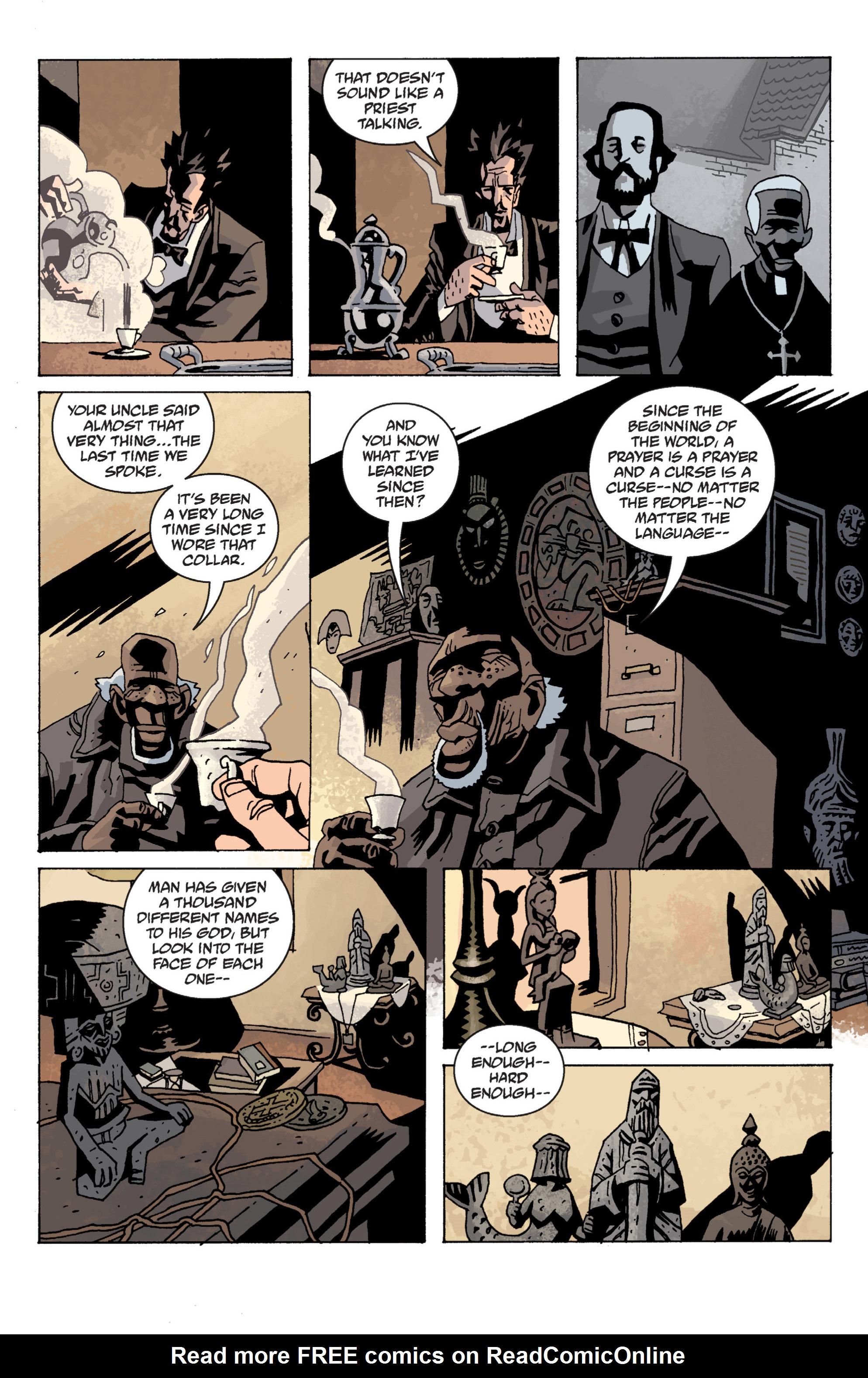 Read online B.P.R.D. (2003) comic -  Issue # TPB 13 - 132