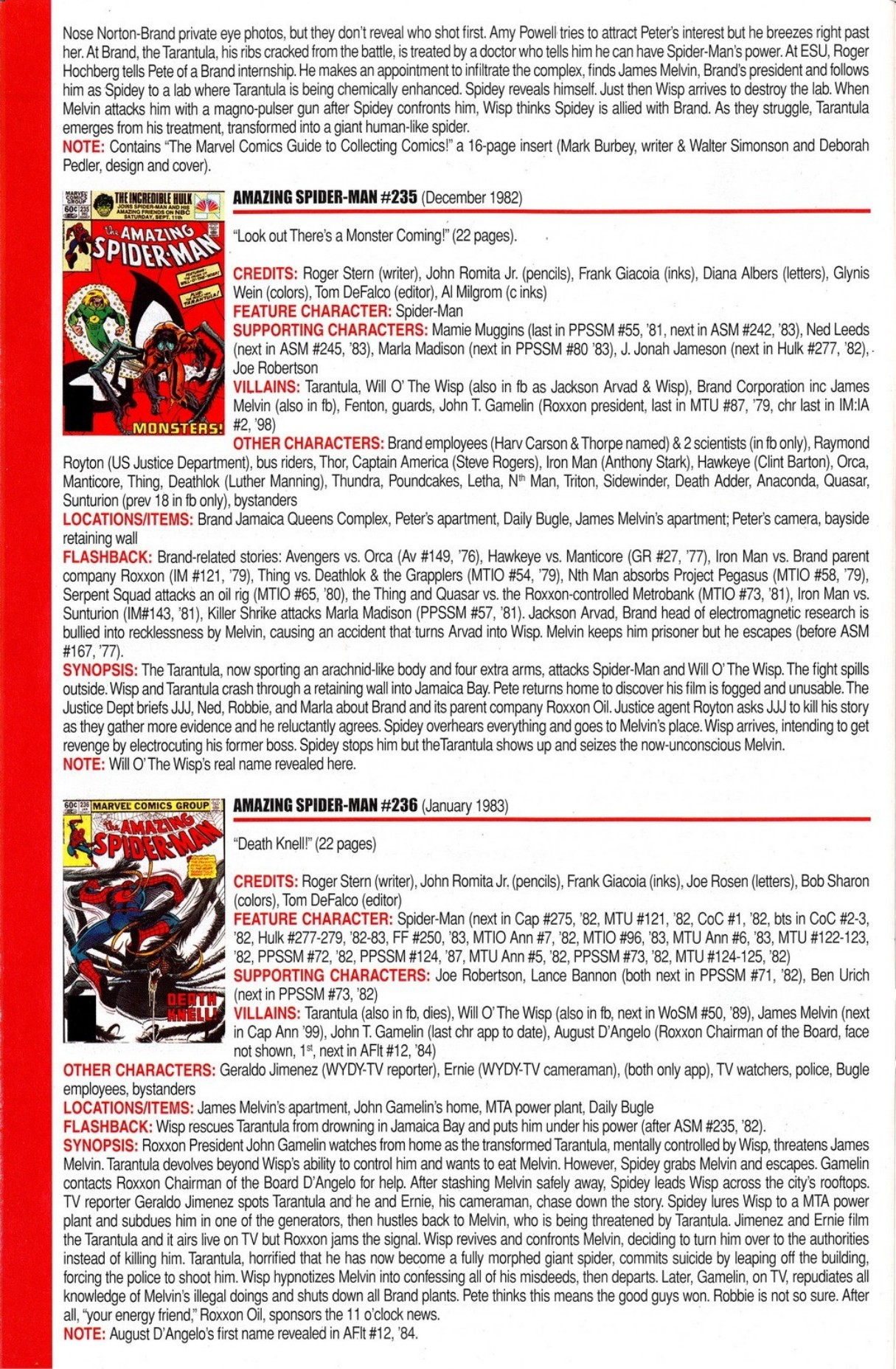 Official Index to the Marvel Universe #5 - Read Official