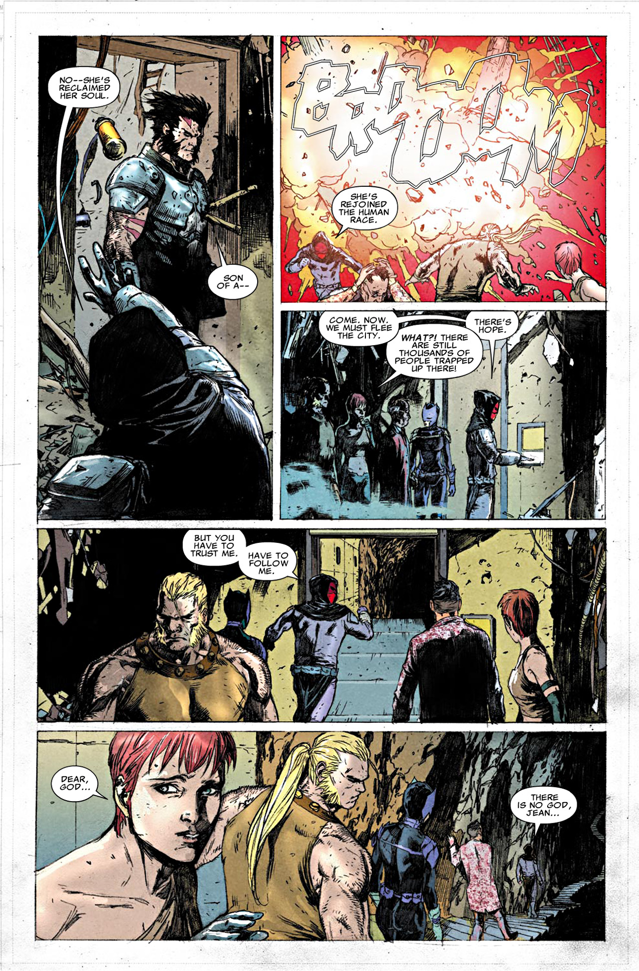 Read online Uncanny X-Force (2010) comic -  Issue #19.1 - 18