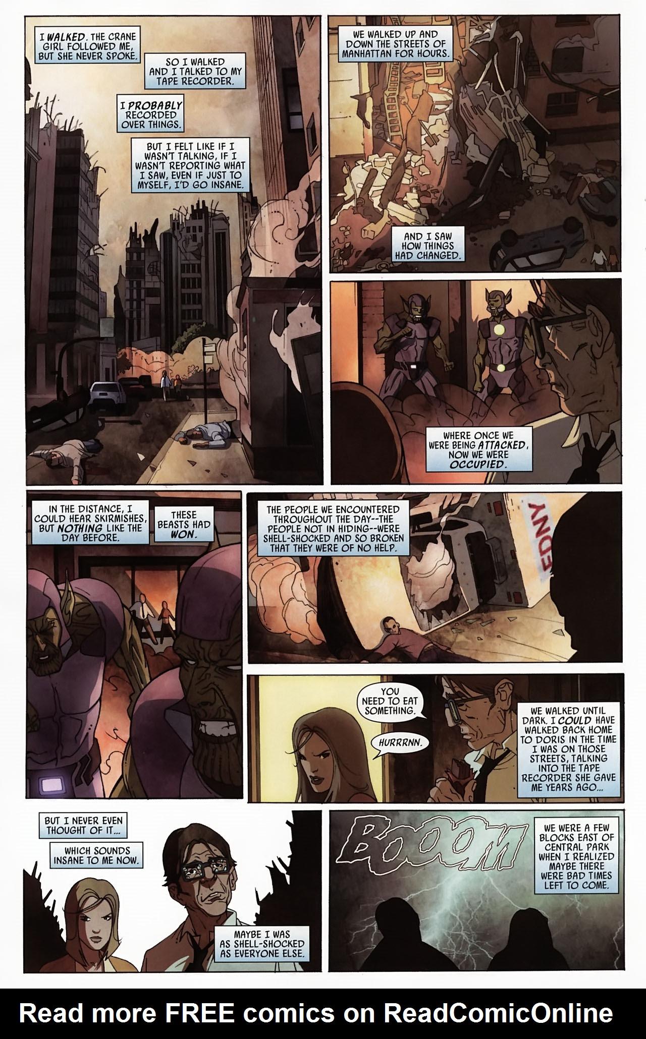 Read online Secret Invasion: Front Line comic -  Issue #4 - 22