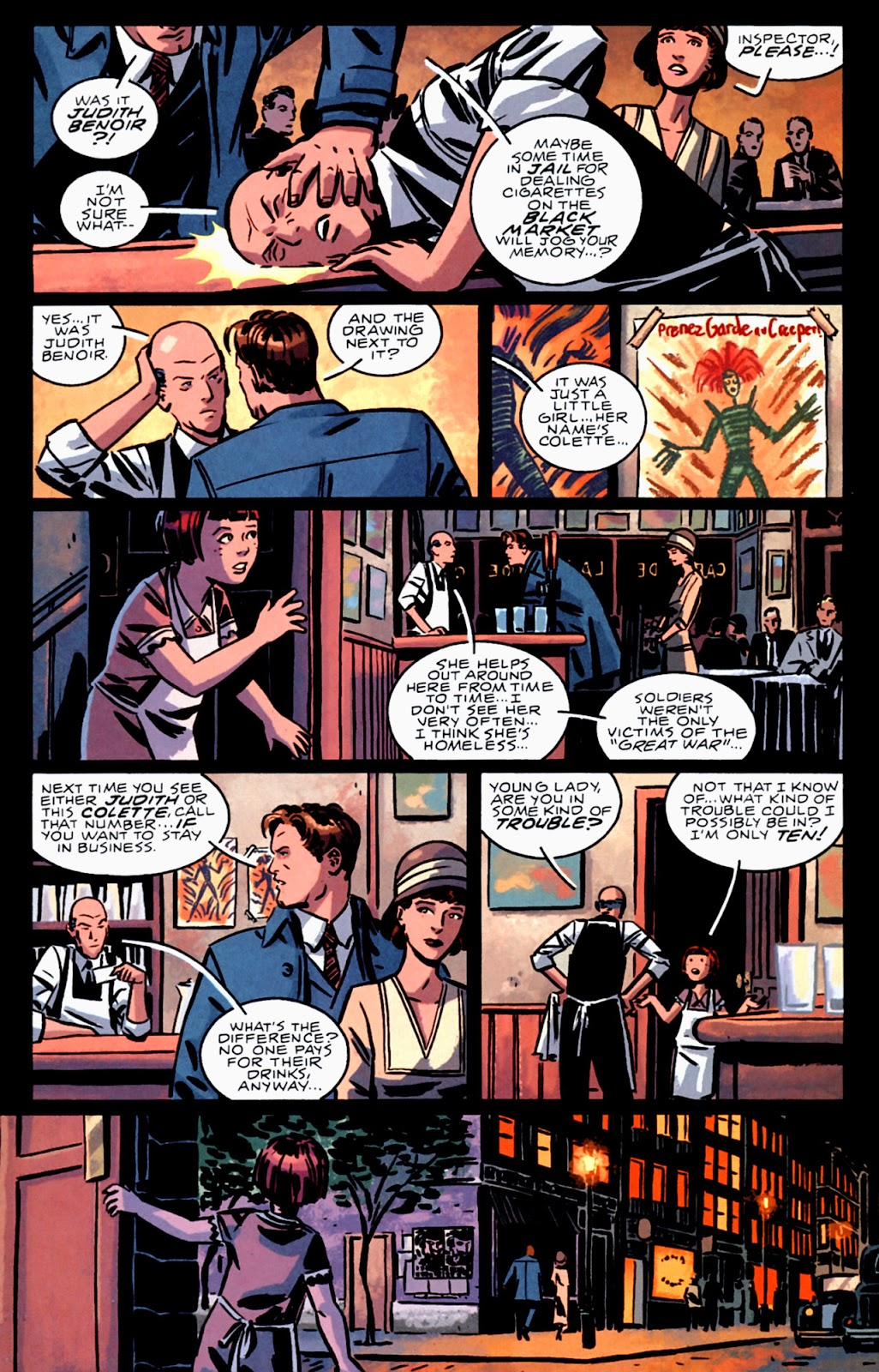 Read online Beware The Creeper (2003) comic -  Issue #3 - 21