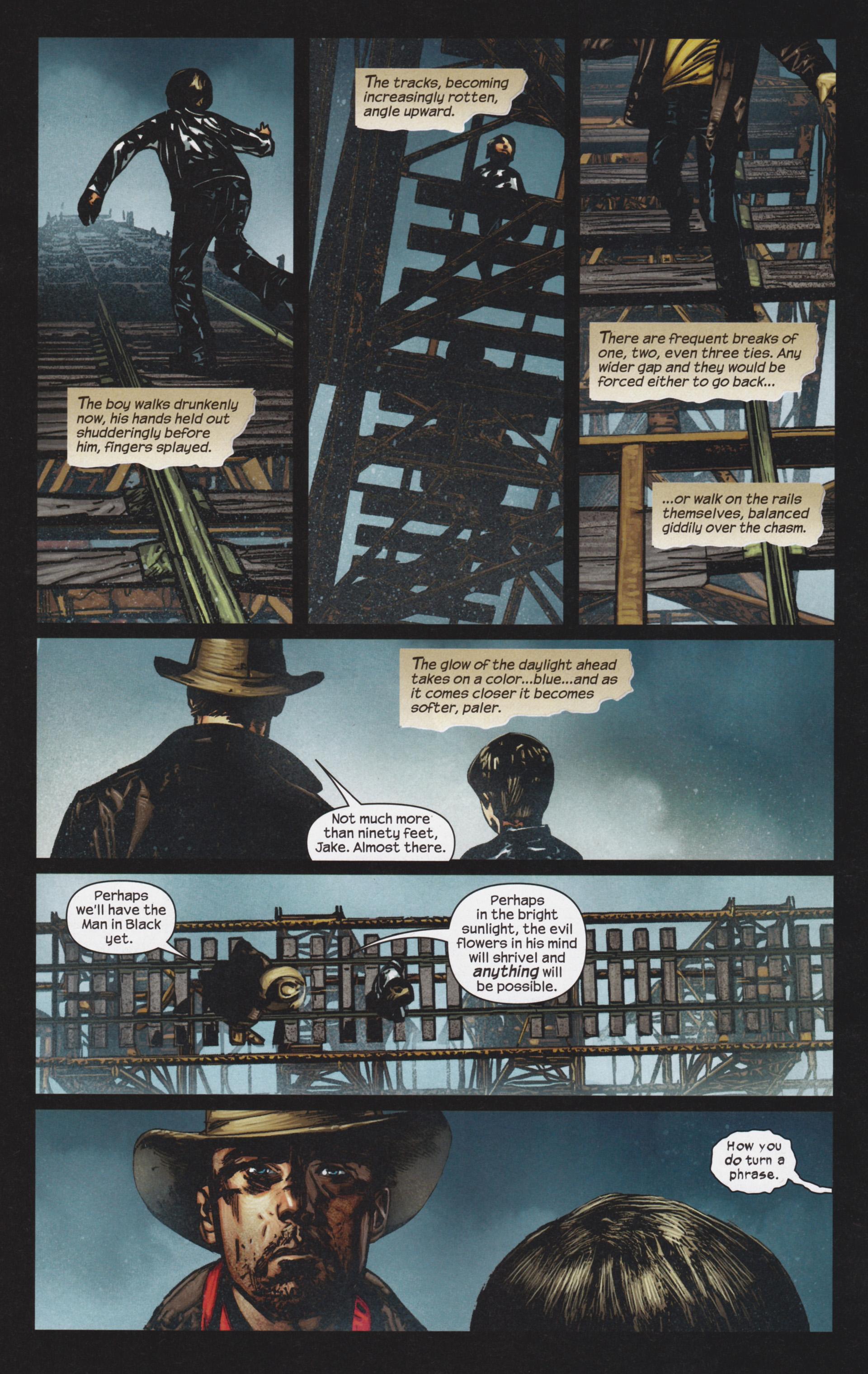 Read online Dark Tower: The Gunslinger - The Man in Black comic -  Issue #4 - 19