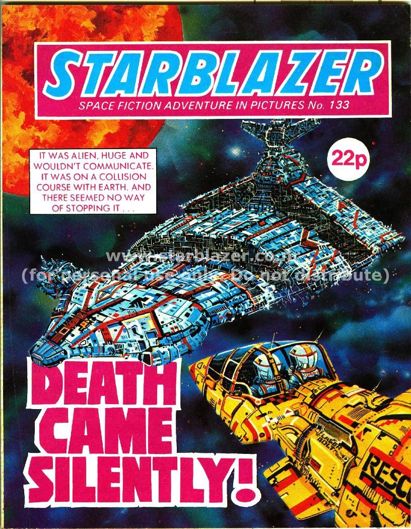 Starblazer issue 133 - Page 1