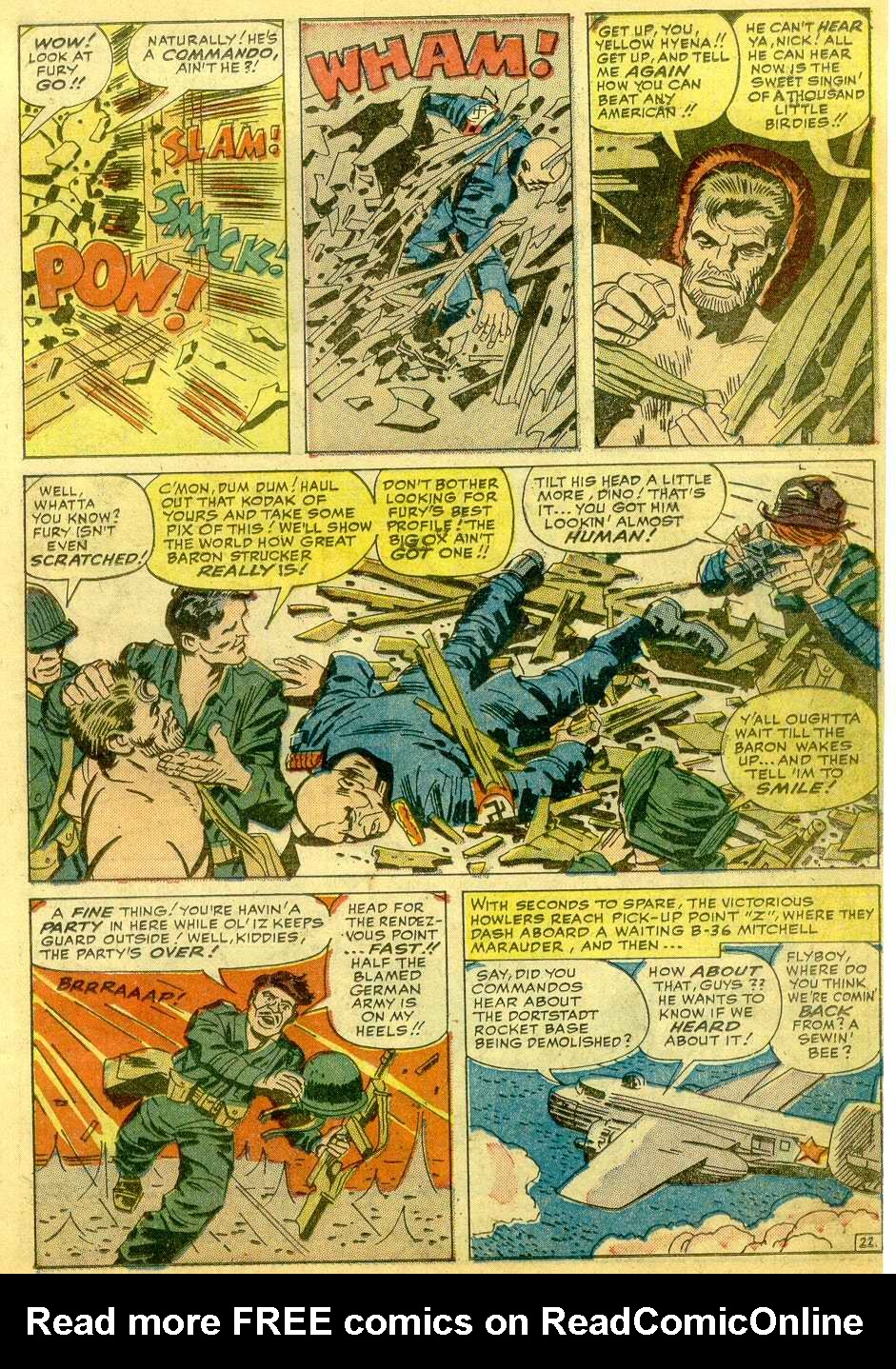 Read online Sgt. Fury comic -  Issue # _Annual 1 - 69