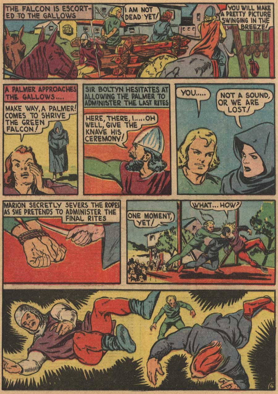 Blue Ribbon Comics (1939) issue 7 - Page 64