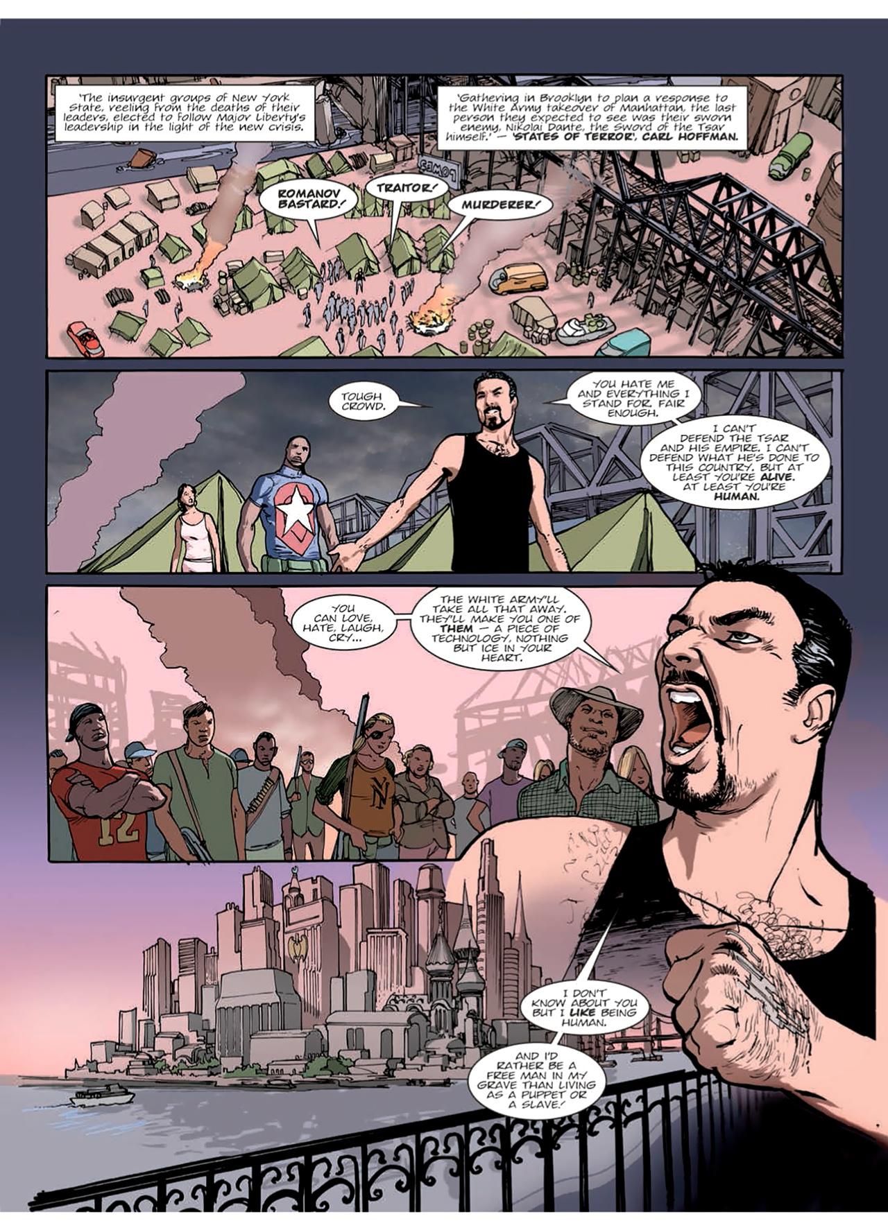 Read online Nikolai Dante comic -  Issue # TPB 9 - 56