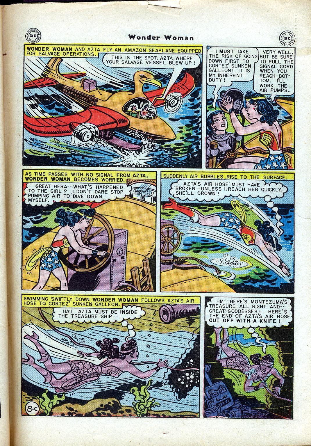 Read online Wonder Woman (1942) comic -  Issue #24 - 45