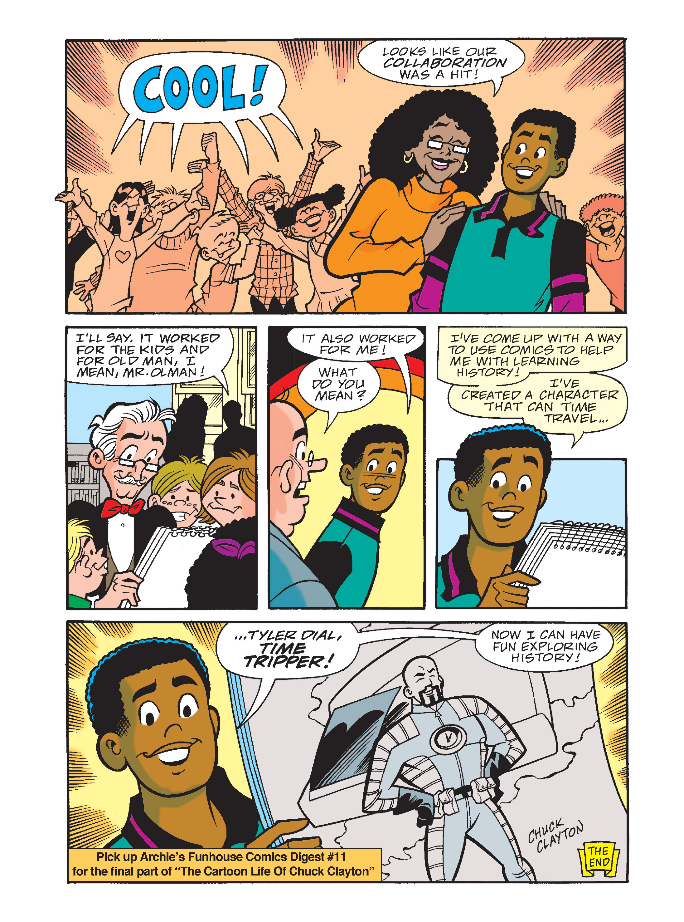 Read online Archie's Funhouse Double Digest comic -  Issue #10 - 57