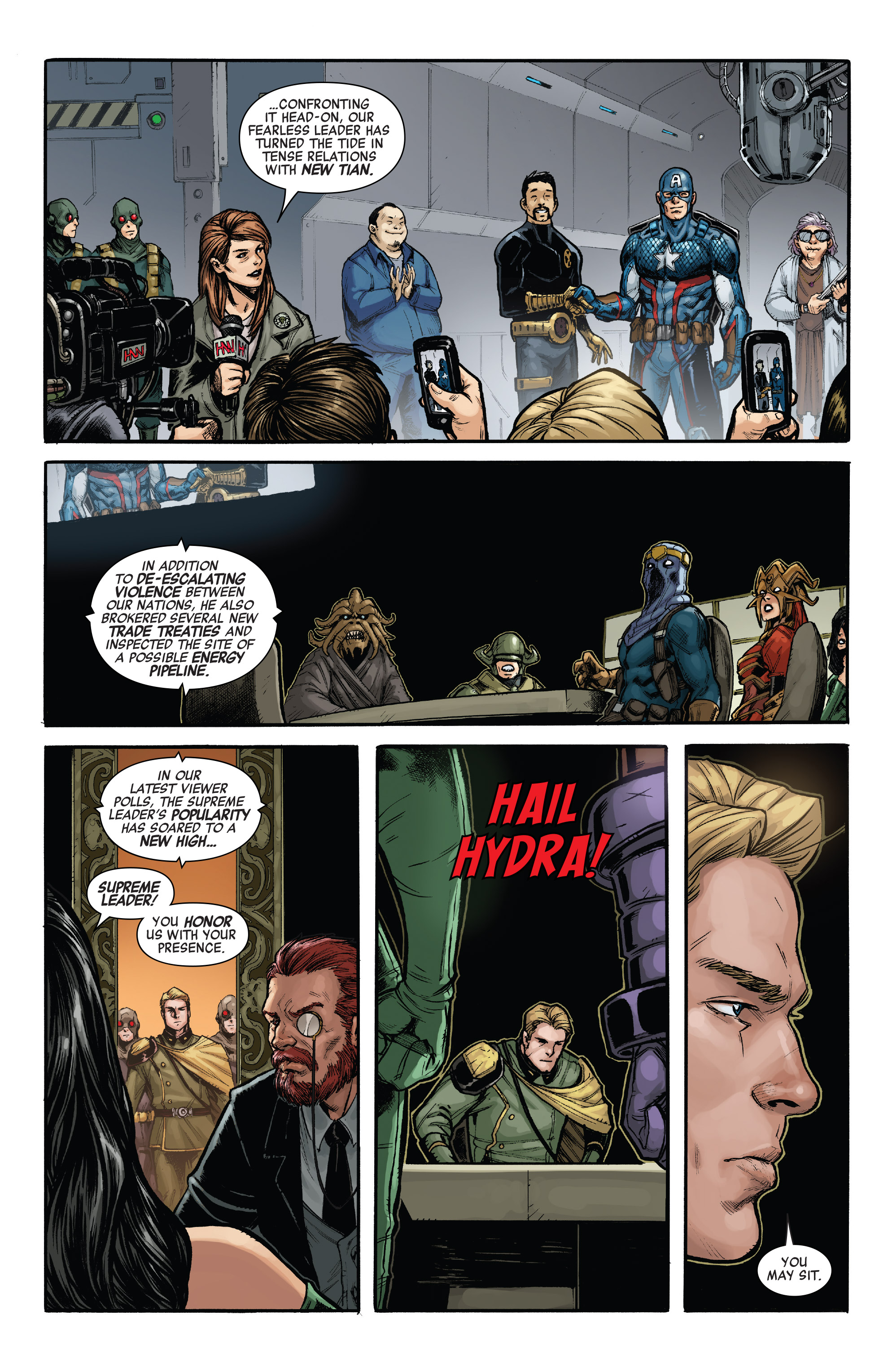 Read online Secret Empire: United comic -  Issue # Full - 29