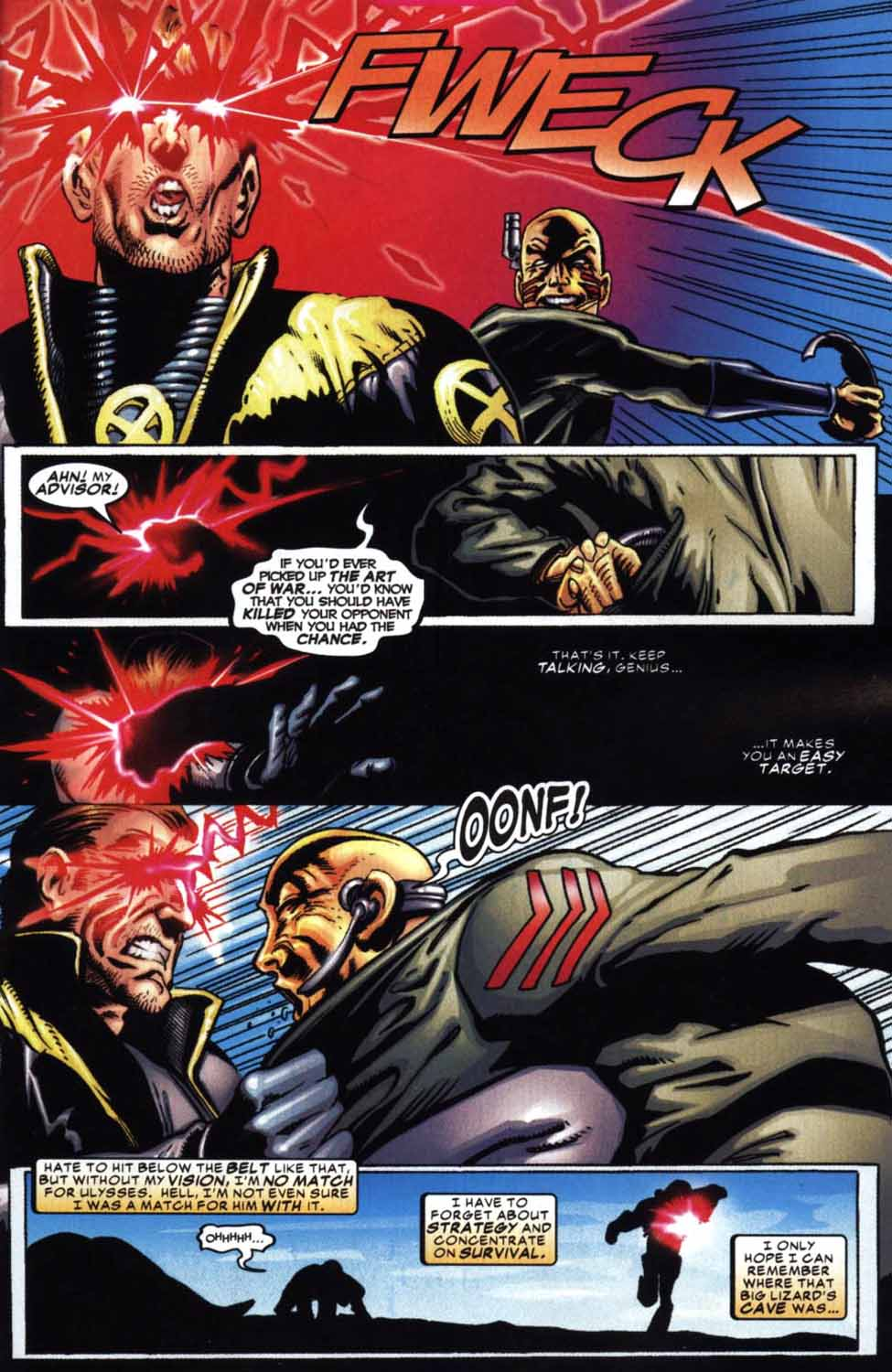 Read online Cyclops (2001) comic -  Issue #2 - 19