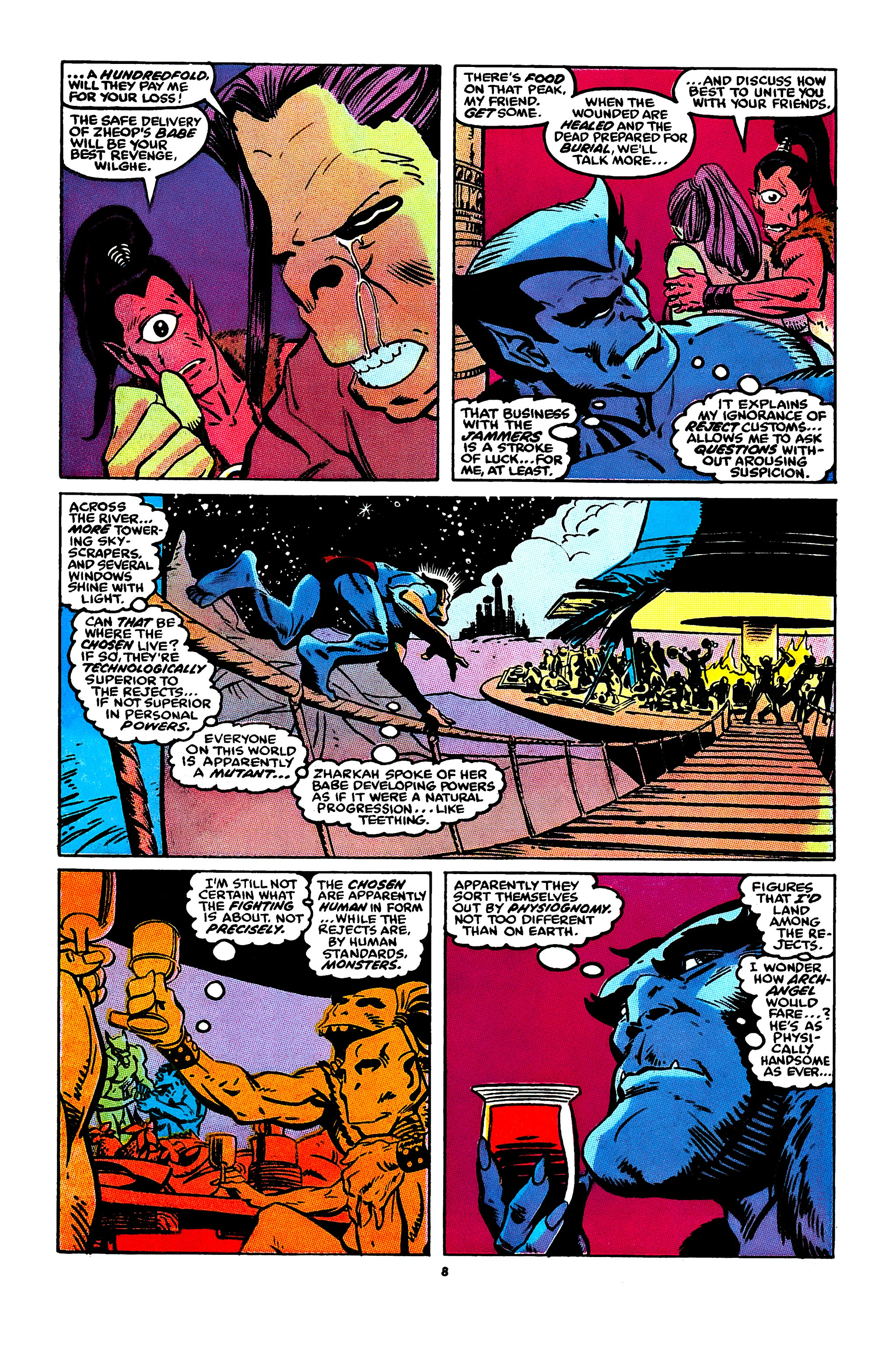 Read online X-Factor (1986) comic -  Issue #44 - 7