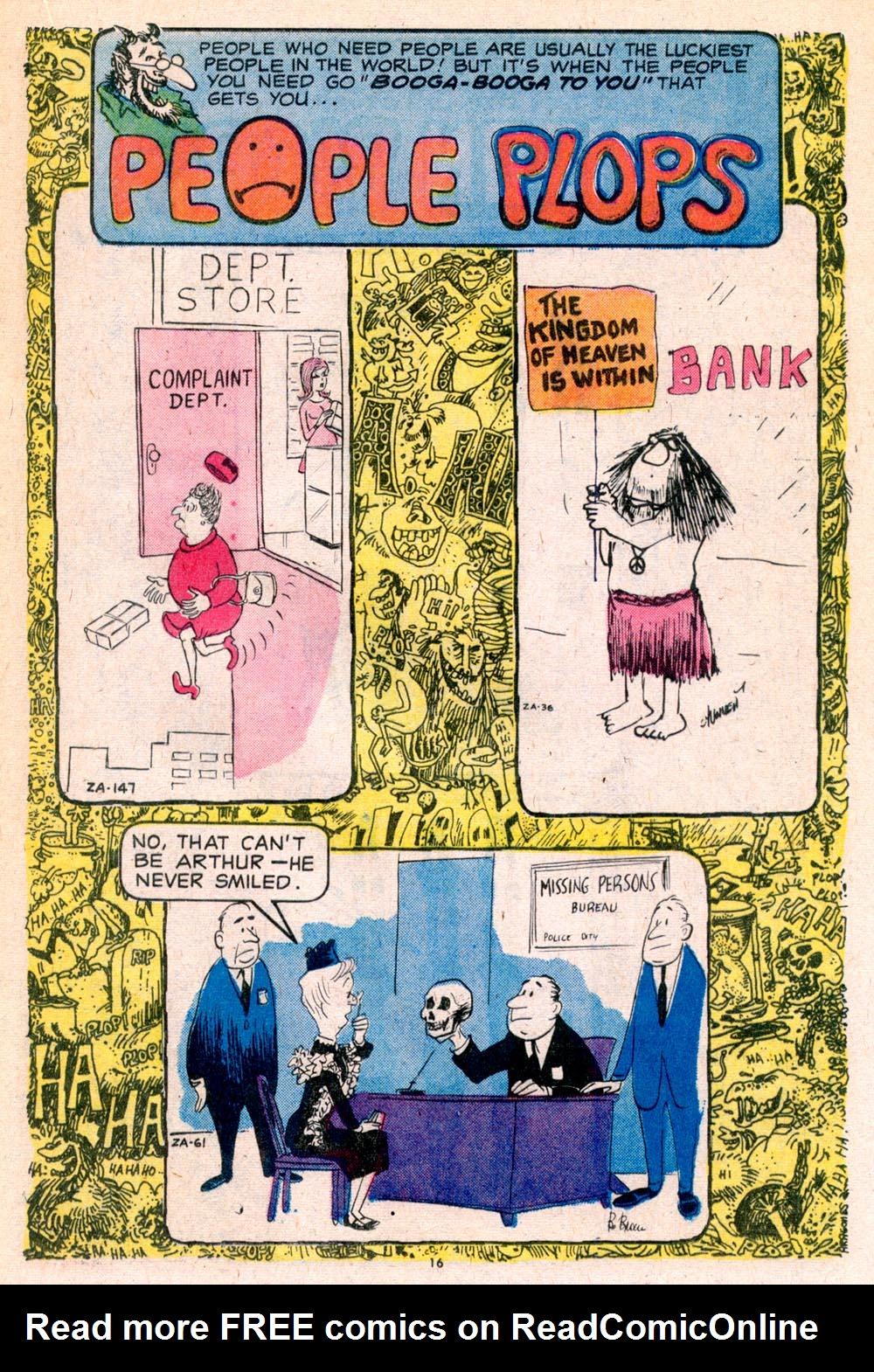 Read online Plop! comic -  Issue #5 - 17