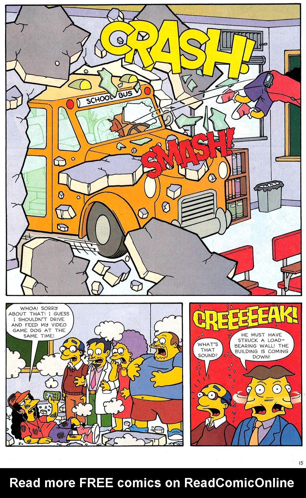 Read online Simpsons Comics comic -  Issue #118 - 12
