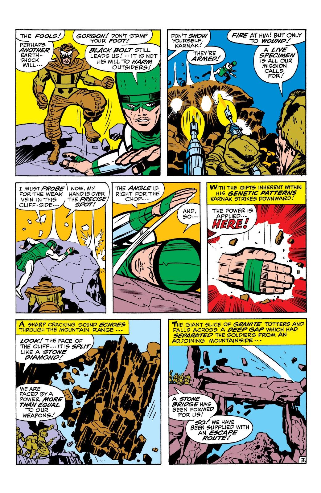Read online Marvel Masterworks: The Inhumans comic -  Issue # TPB 1 (Part 1) - 72