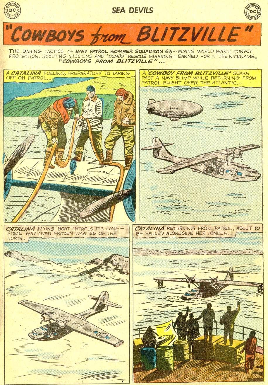 Read online Sea Devils comic -  Issue #10 - 20