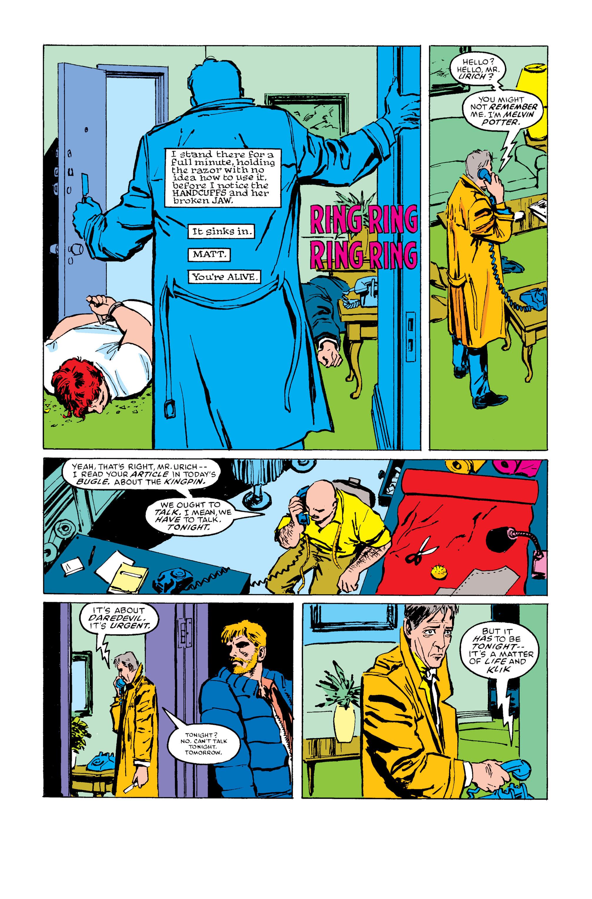 Read online Daredevil: Born Again comic -  Issue # Full - 132