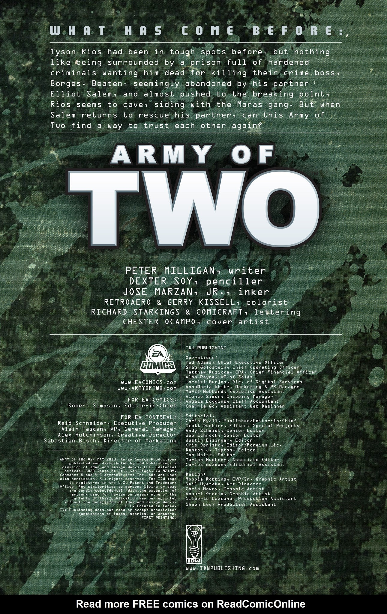 Army of Two 5 Page 2