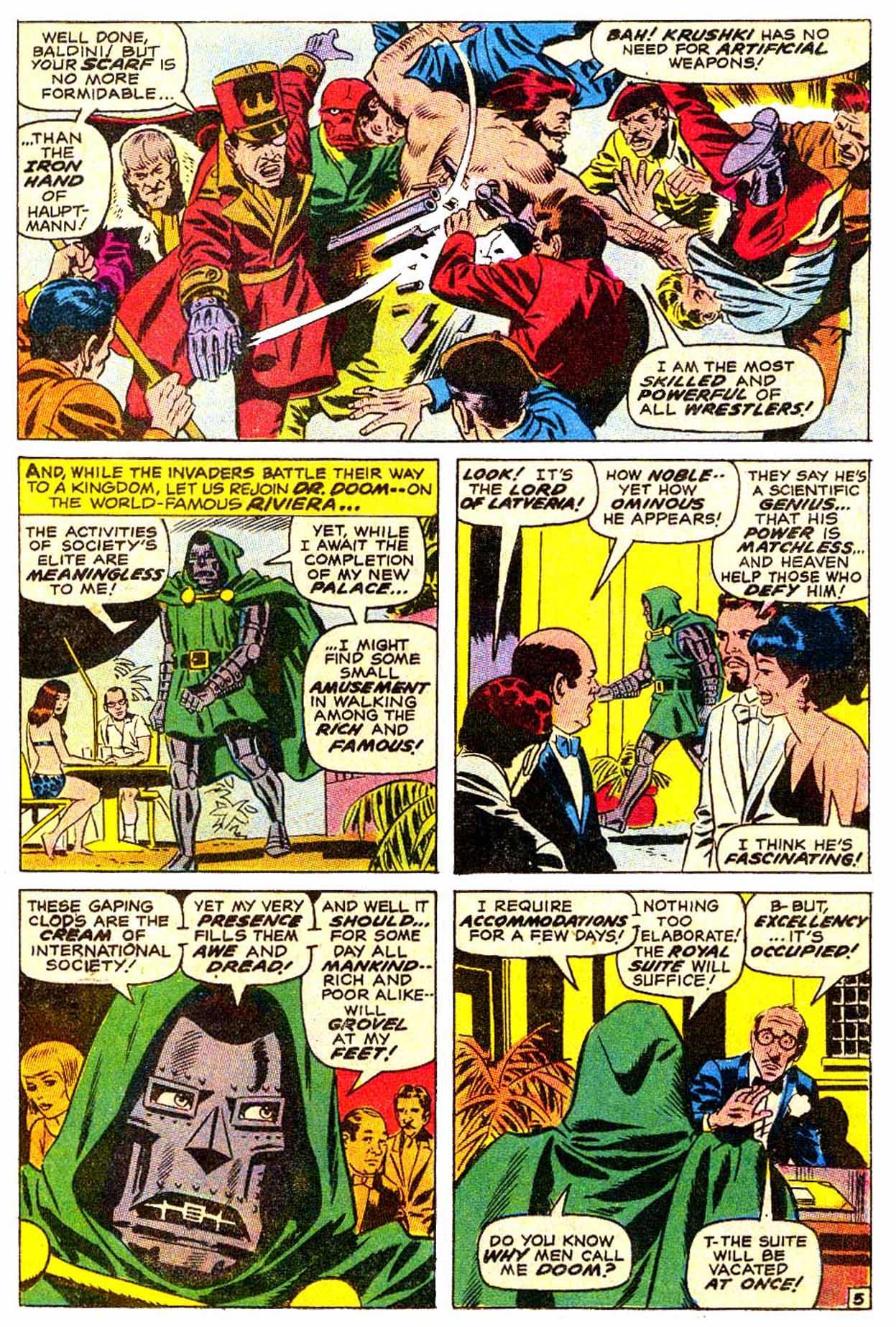 Read online Astonishing Tales (1970) comic -  Issue #4 - 6