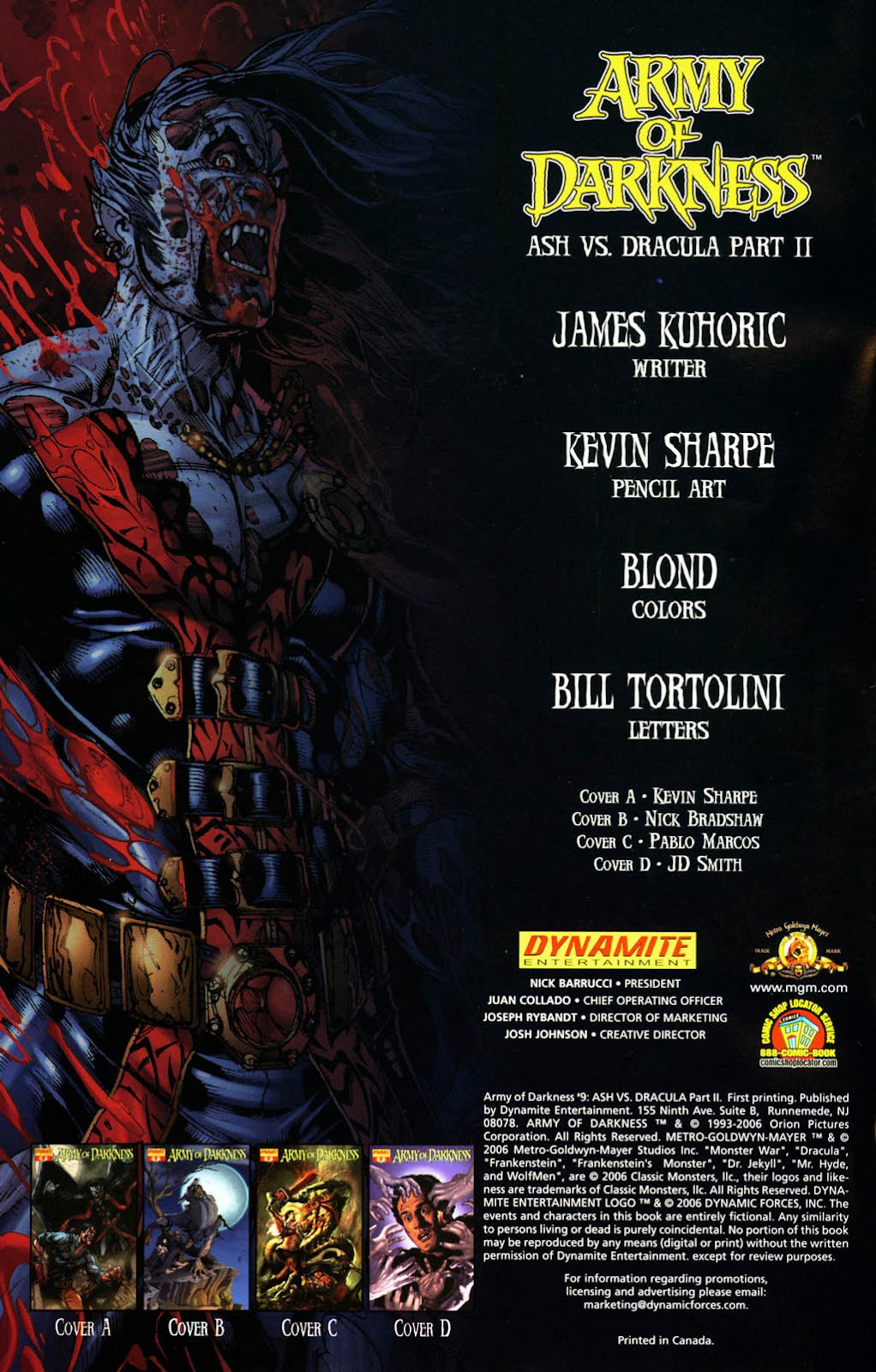 Army of Darkness (2006) Issue #9 #5 - English 2
