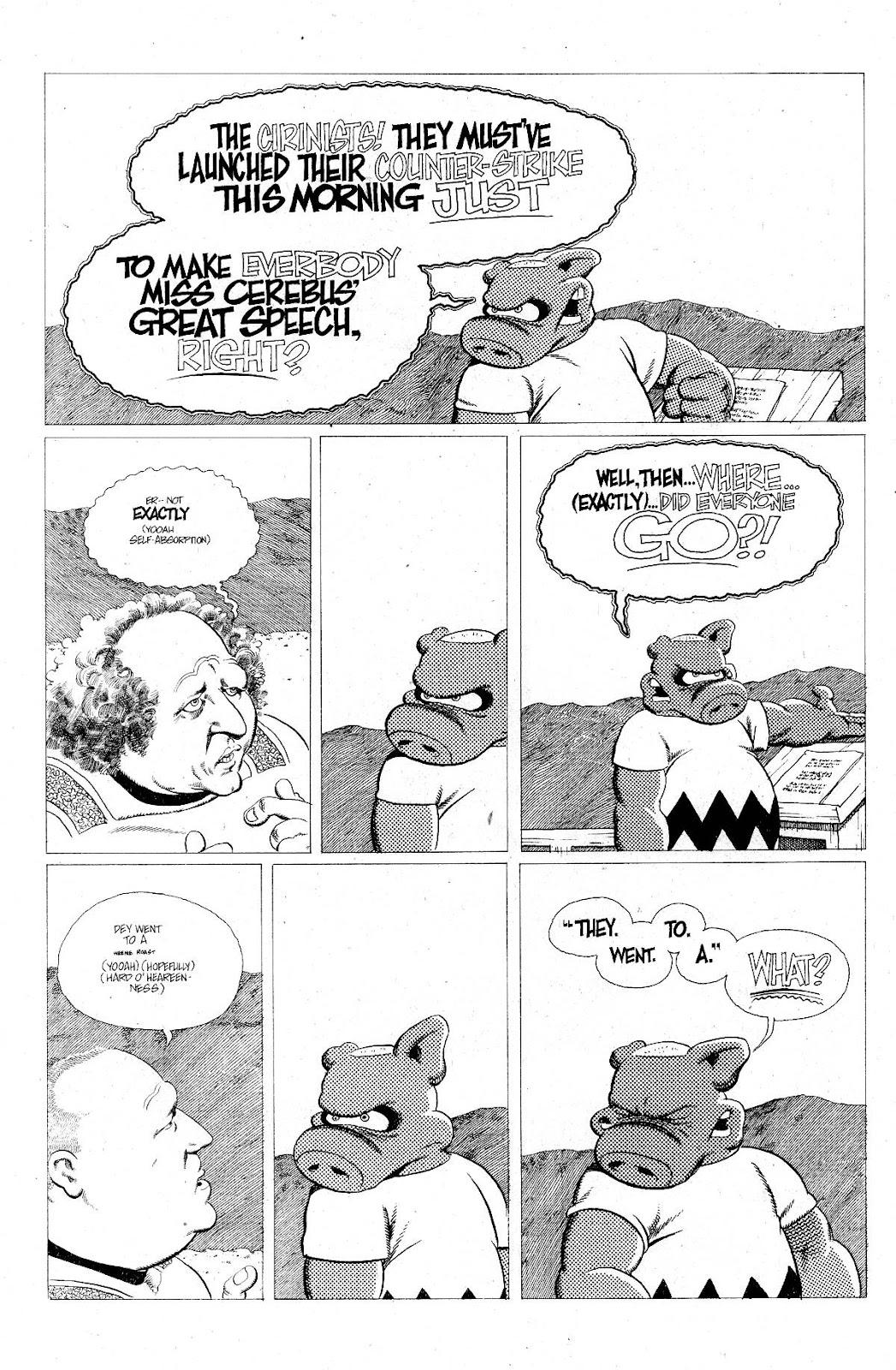 Cerebus Issue #275 #274 - English 12