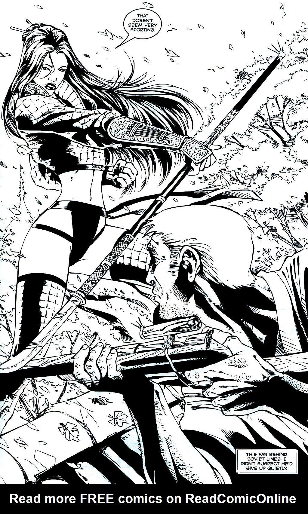 Read online Shi: Sempo comic -  Issue #1 - 8