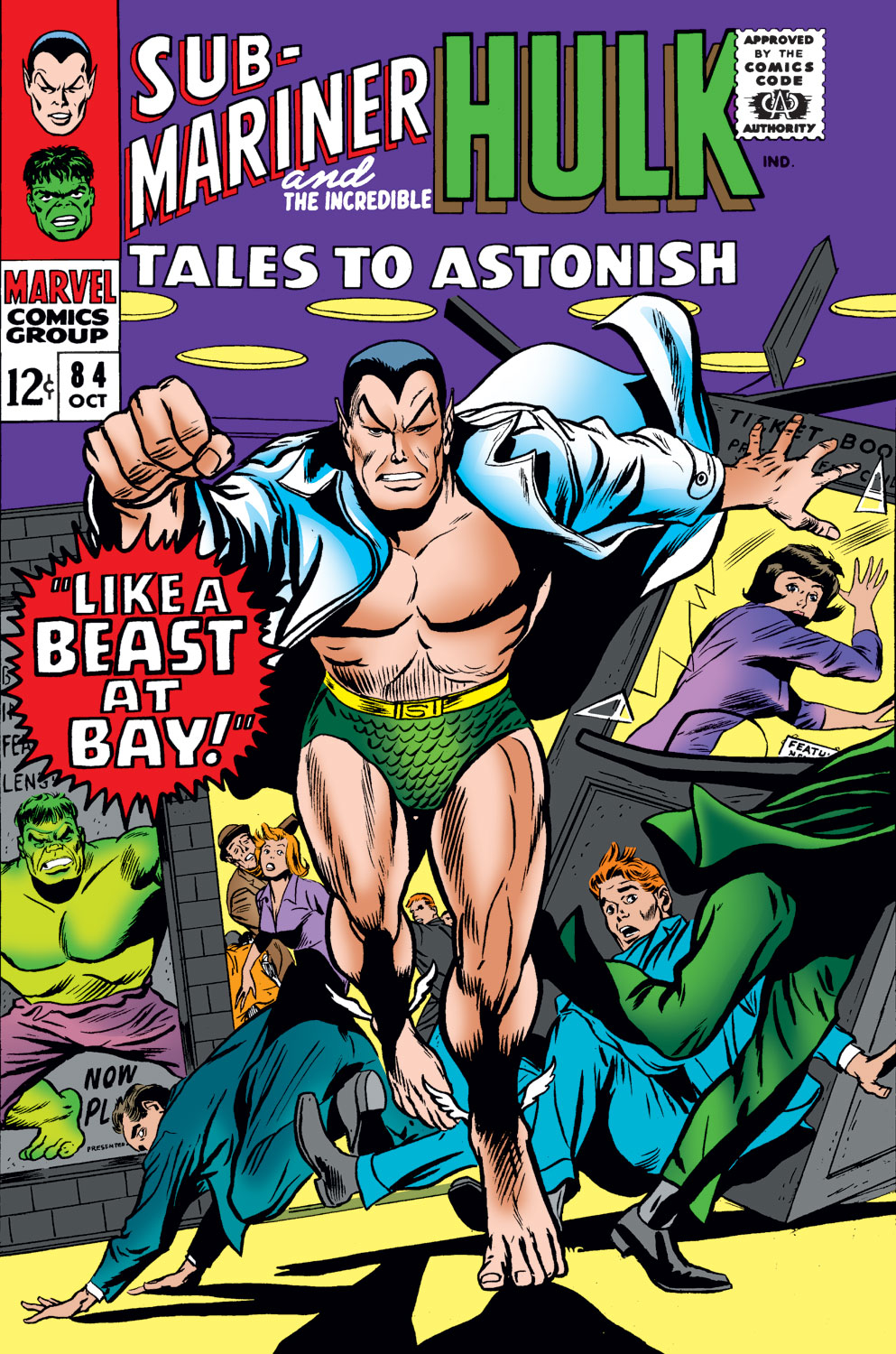 Tales to Astonish (1959) issue 84 - Page 1