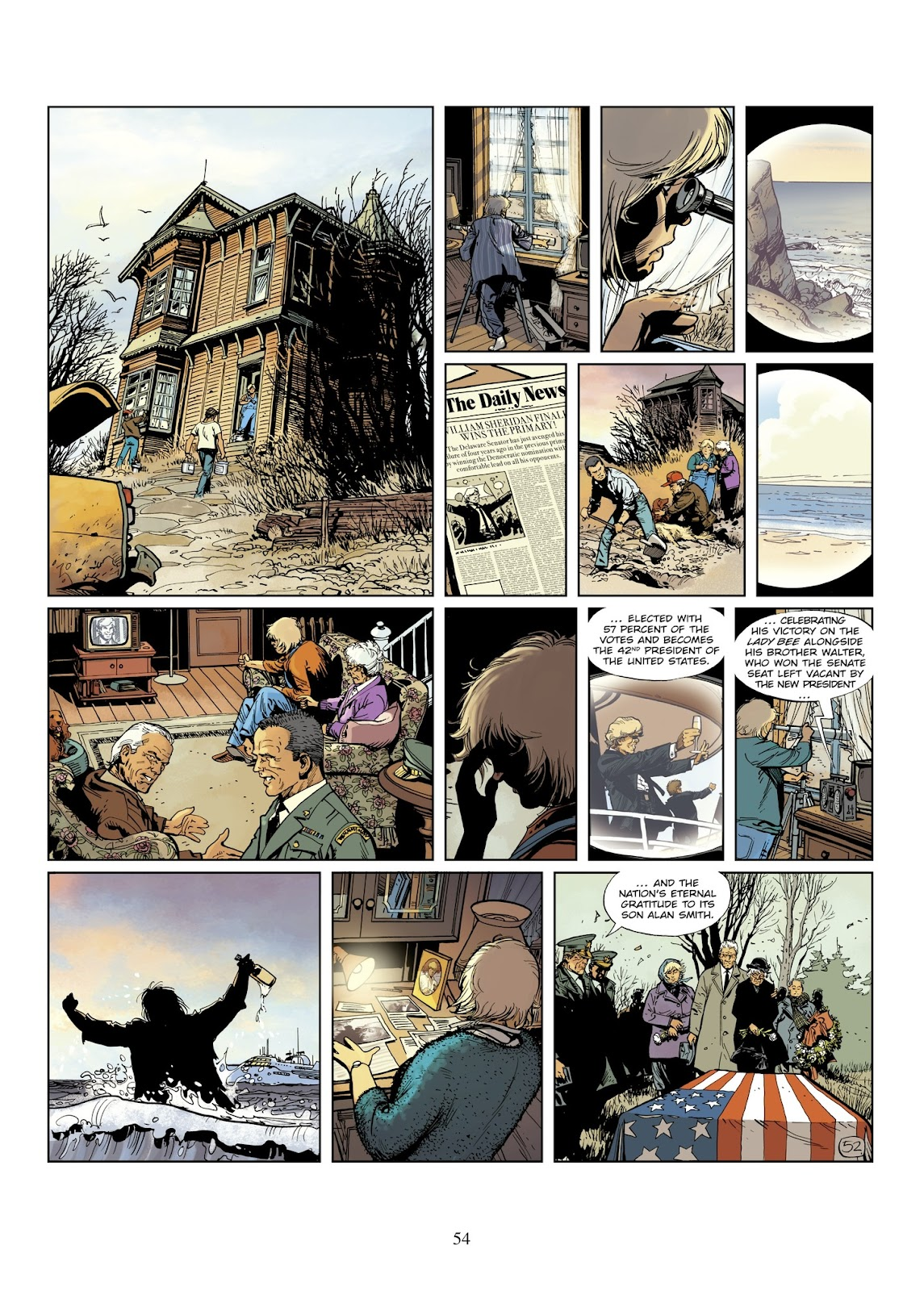 XIII Mystery issue 8 - Page 56