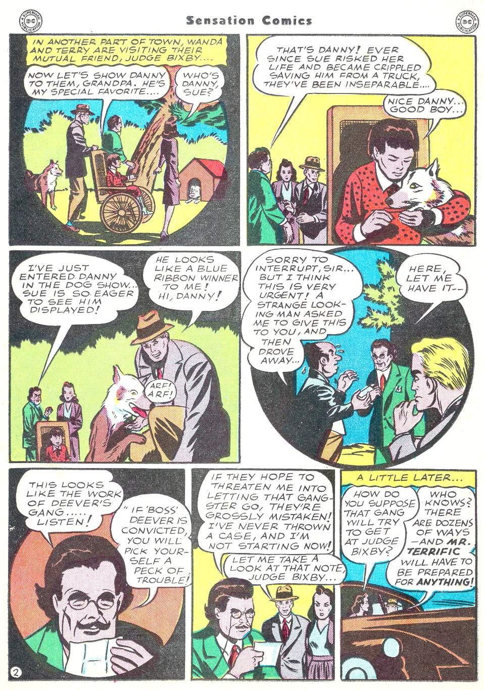 Read online Sensation (Mystery) Comics comic -  Issue #50 - 26