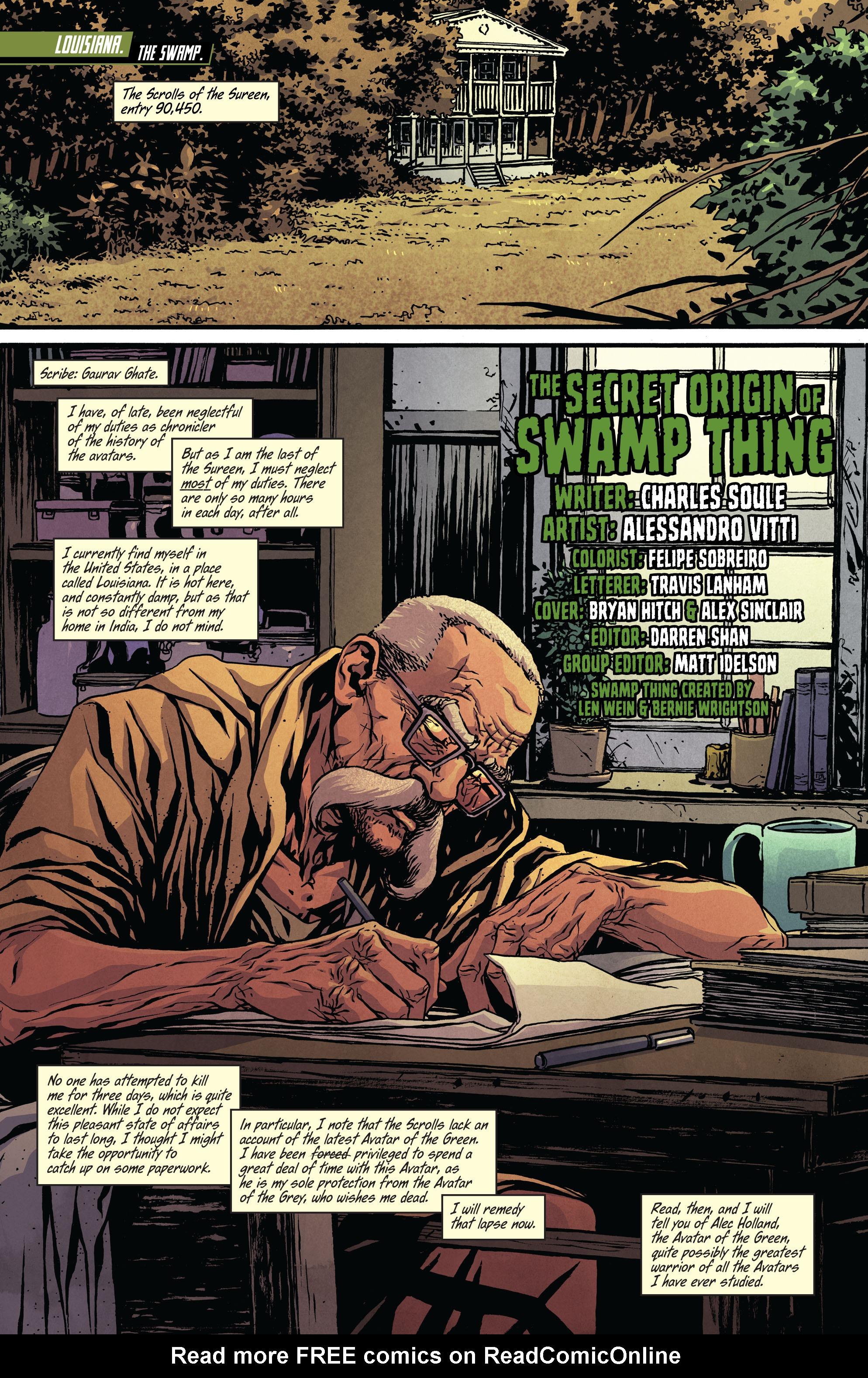 Read online Secret Origins (2014) comic -  Issue #9 - 2