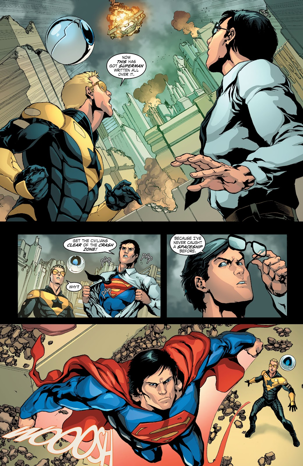 Read online Smallville Season 11 [II] comic -  Issue # TPB 4 - 20