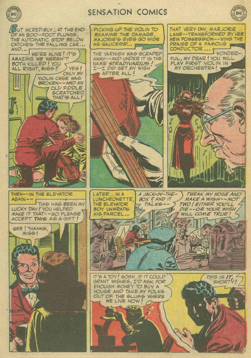 Read online Sensation (Mystery) Comics comic -  Issue #107 - 7